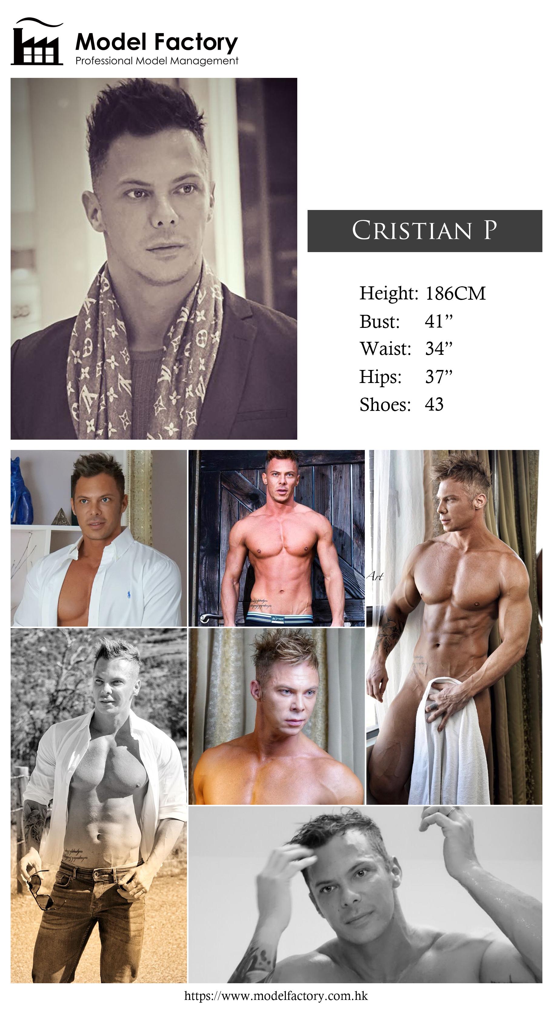 Model Factory Caucasian Male Model CristianP