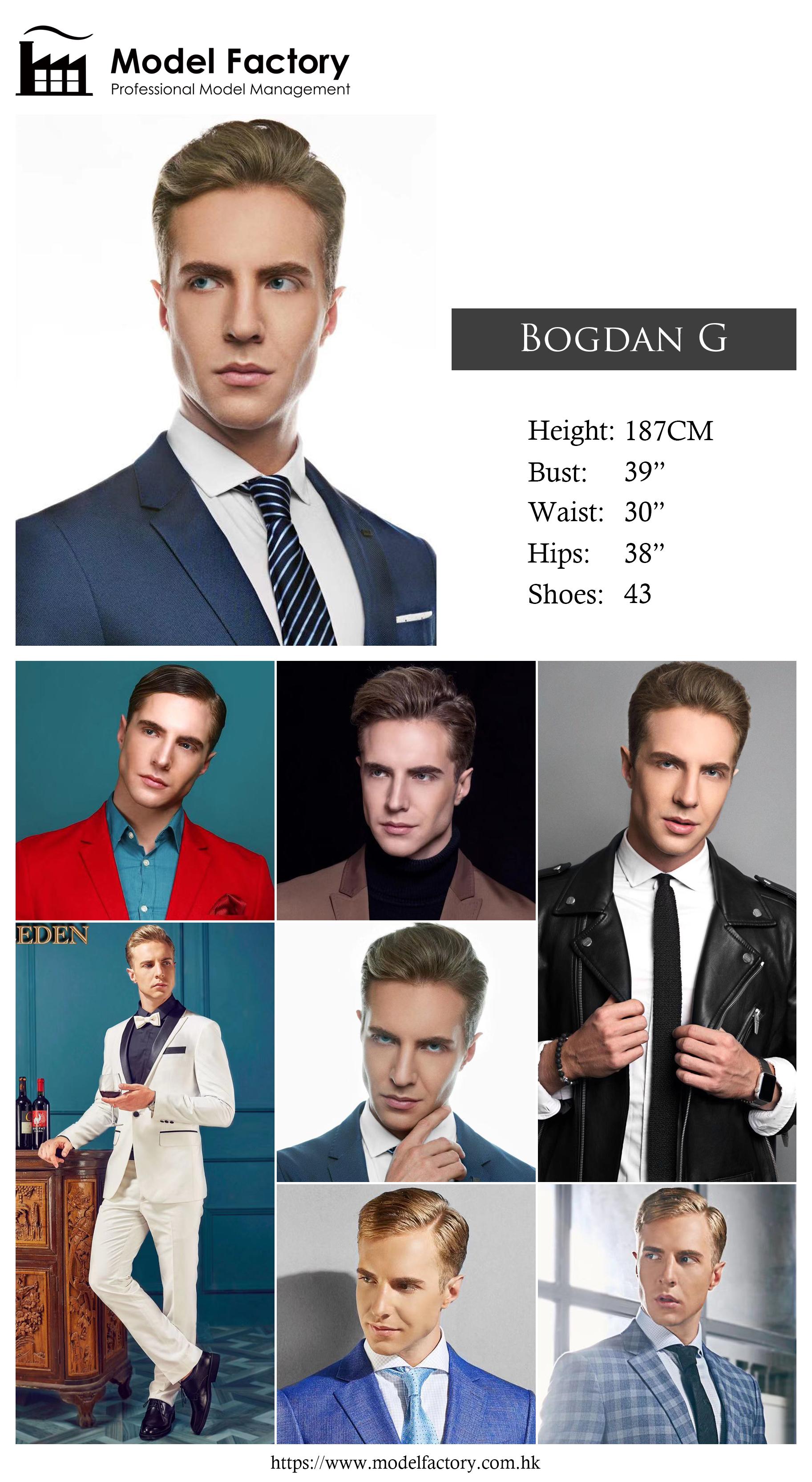 Model Factory Caucasian Male Model BogdanG
