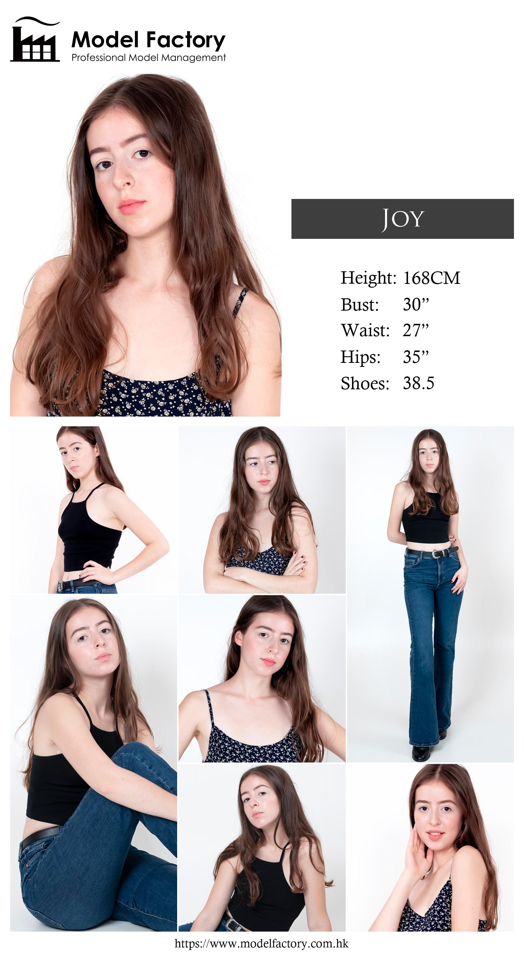 Model Factory Caucasian Female Model Joy