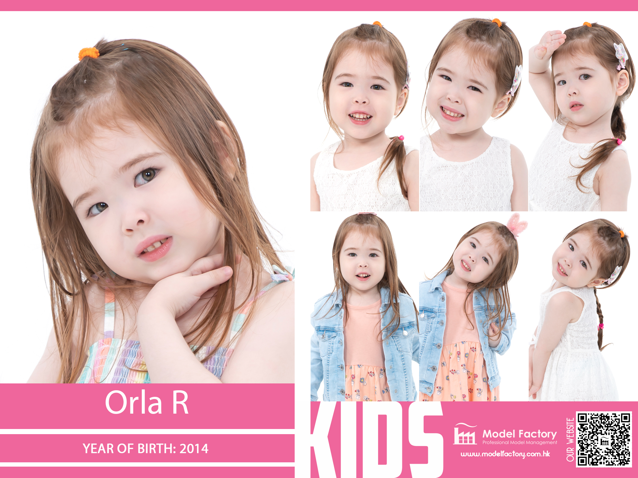 Model Factory Caucasian Kids Orla R