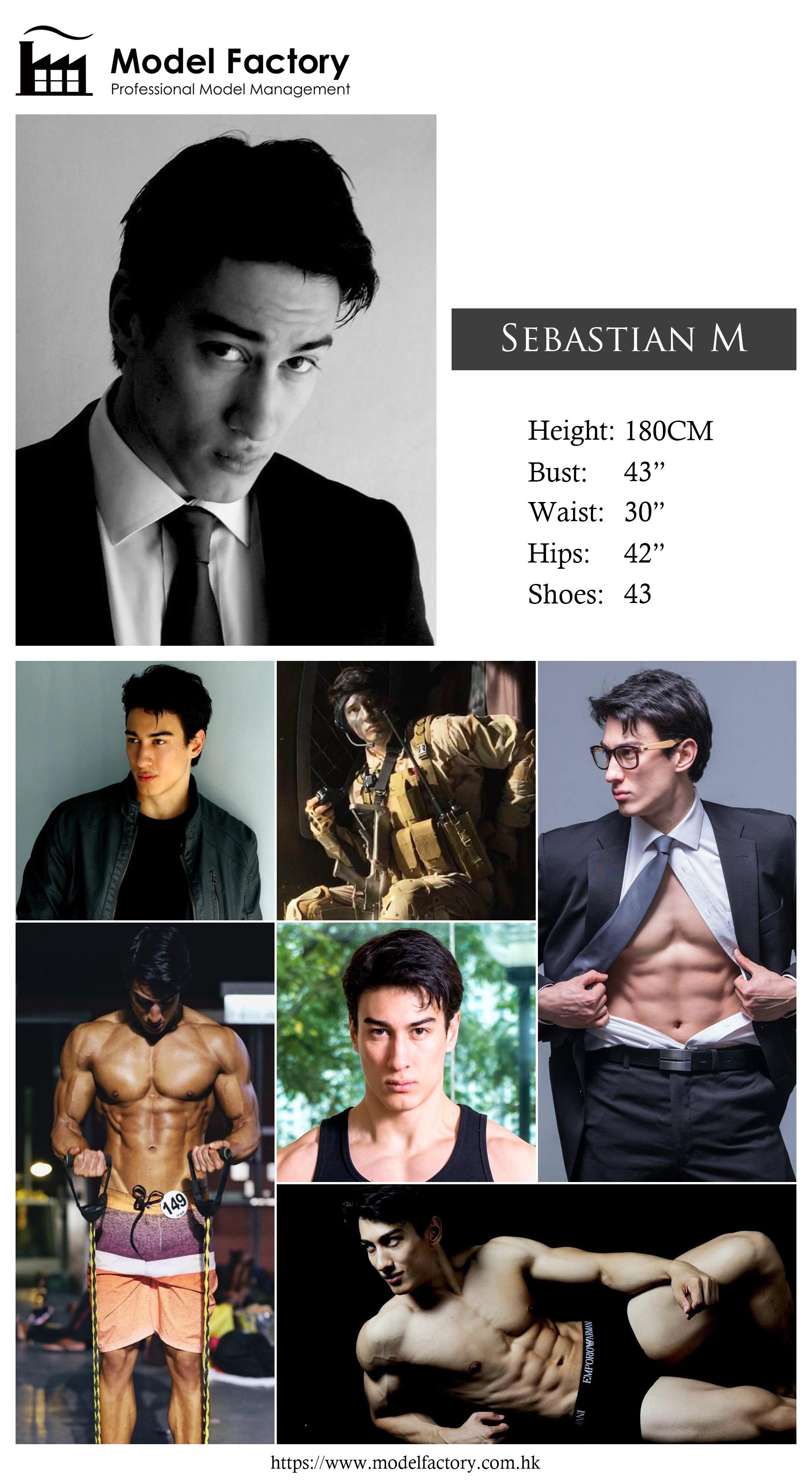 Model Factory Caucasian Male Model SebastianM