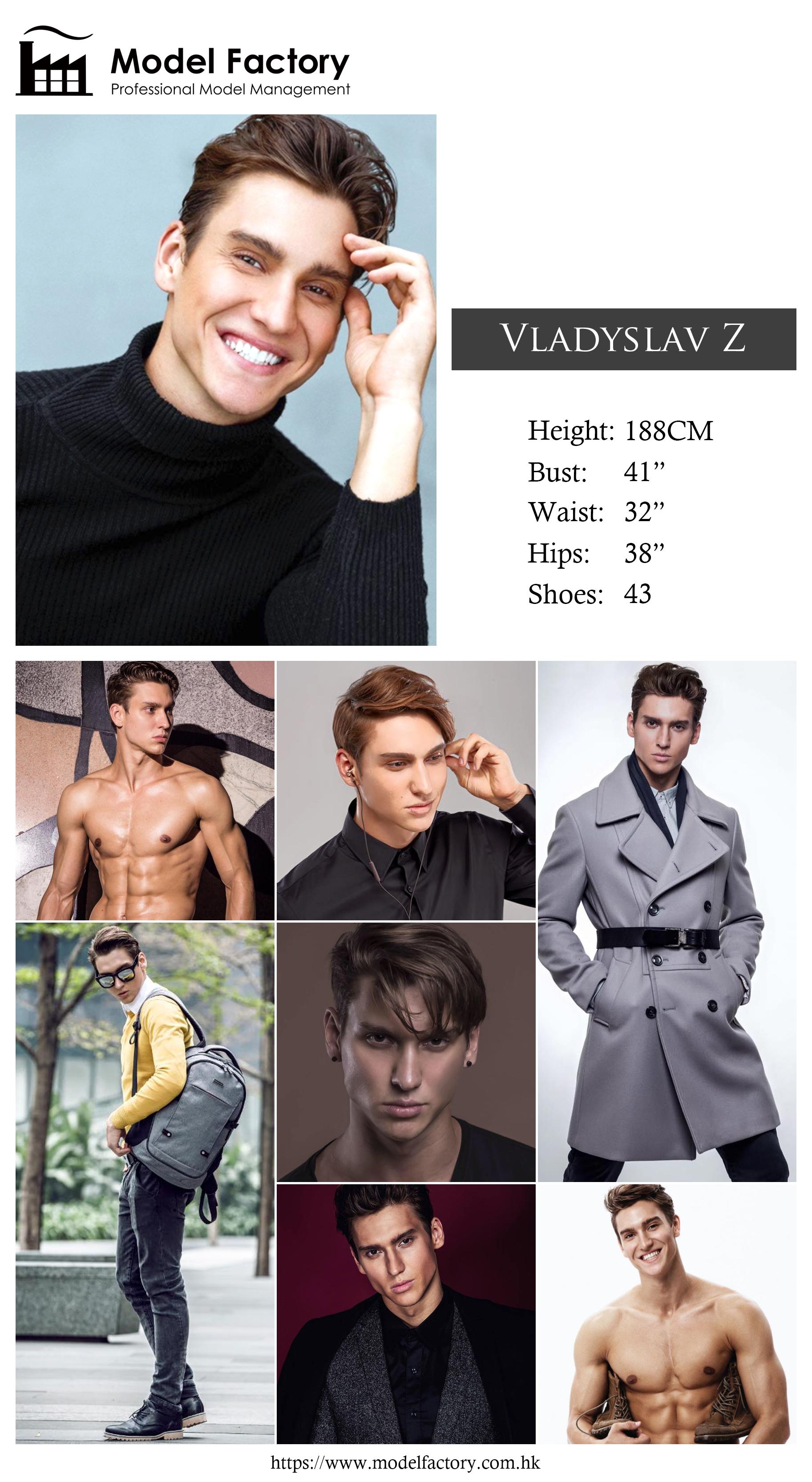 Model Factory Caucasian Male Model VladyslavZ