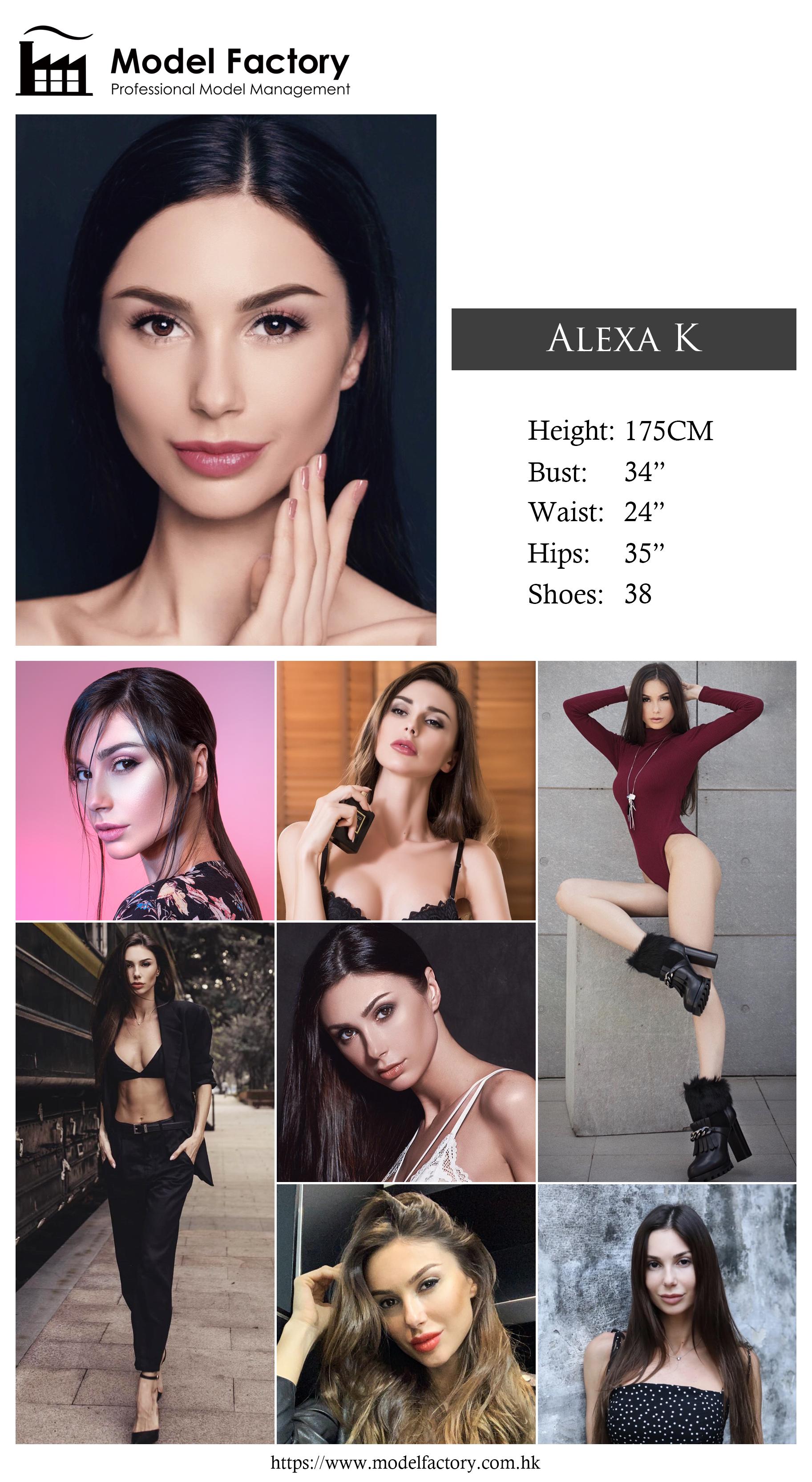 Model Factory Caucasian Female Model AlexaK