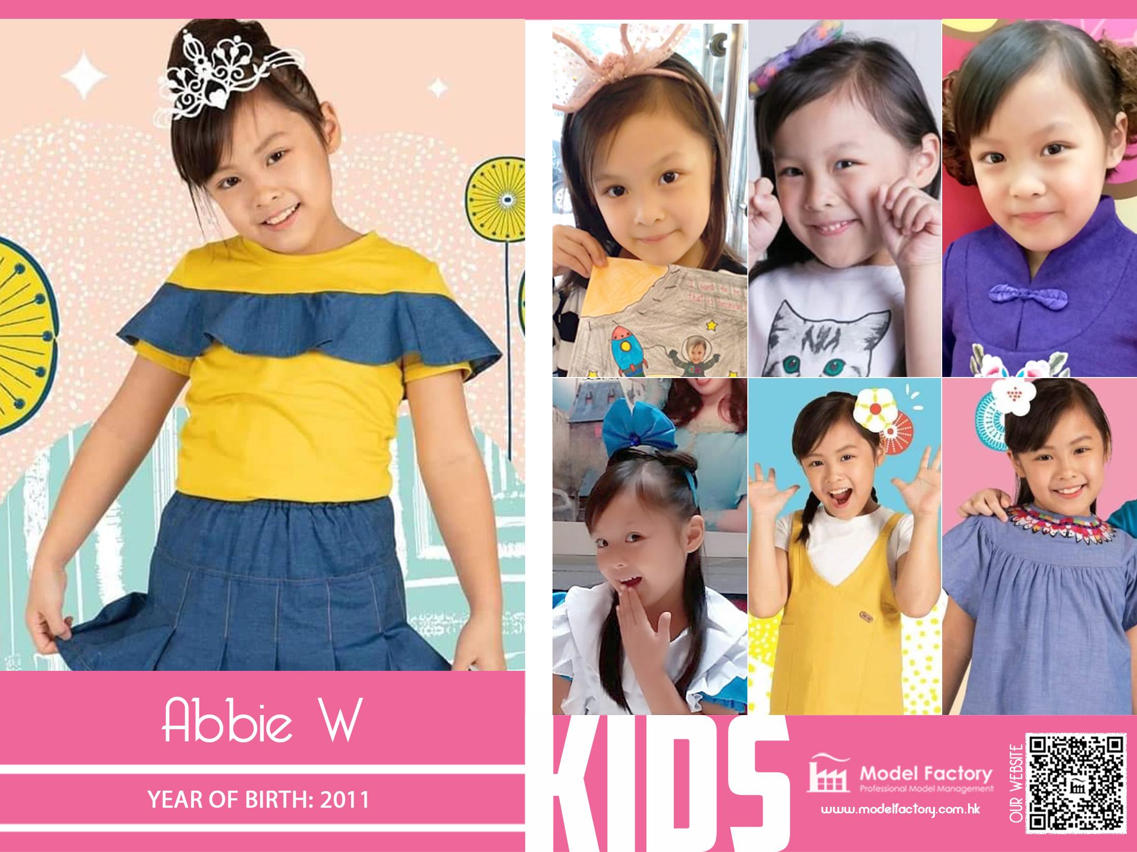 Model Factory Local Kids Model Abbie W
