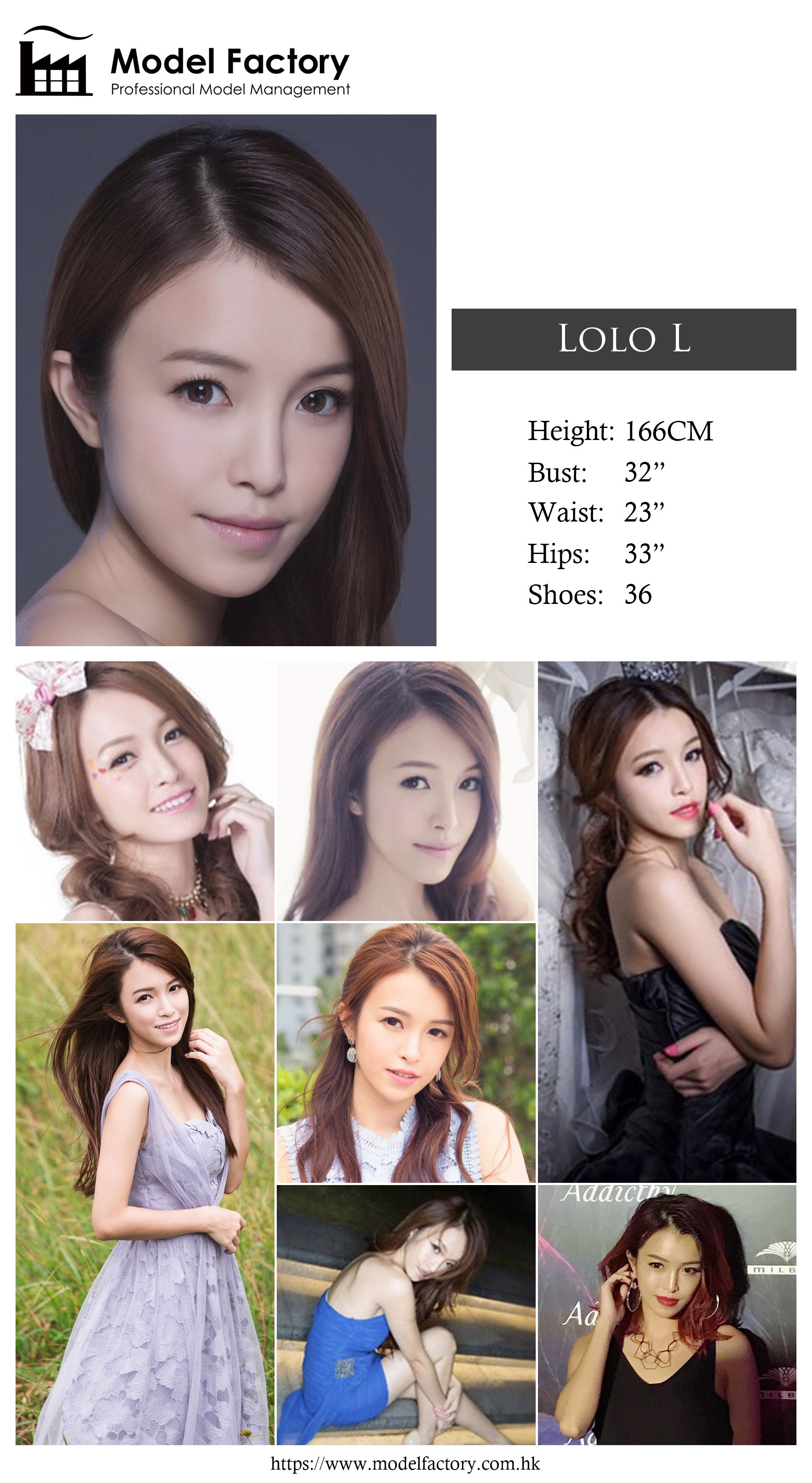 Model Factory Hong Kong Female Model LoloL