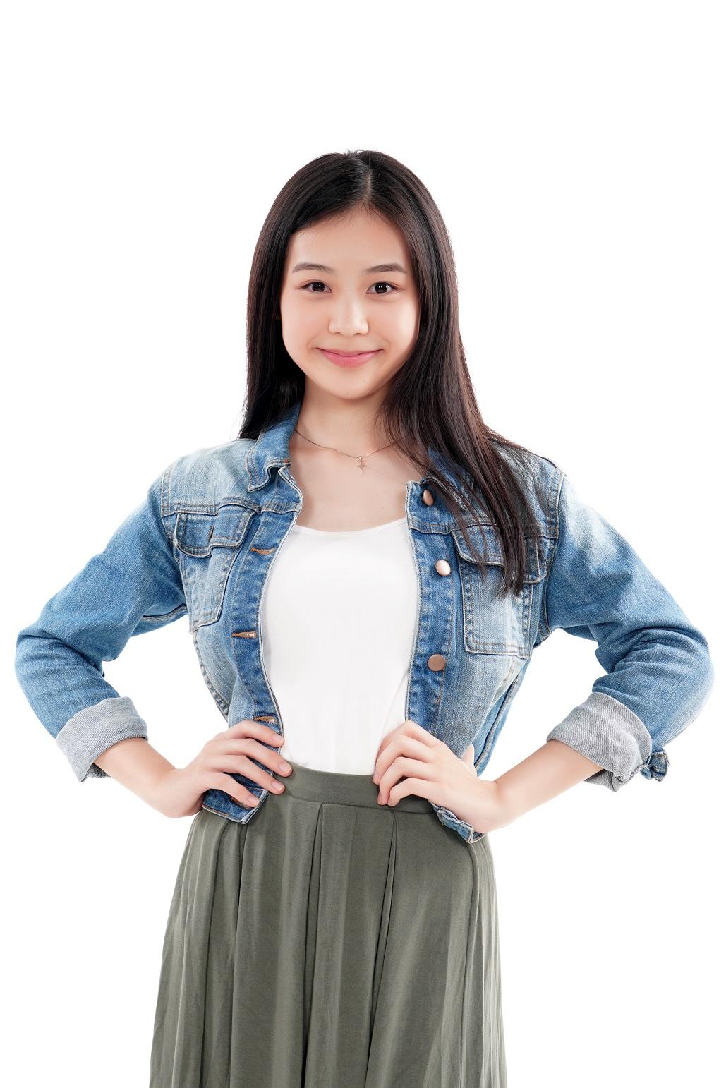 female model B