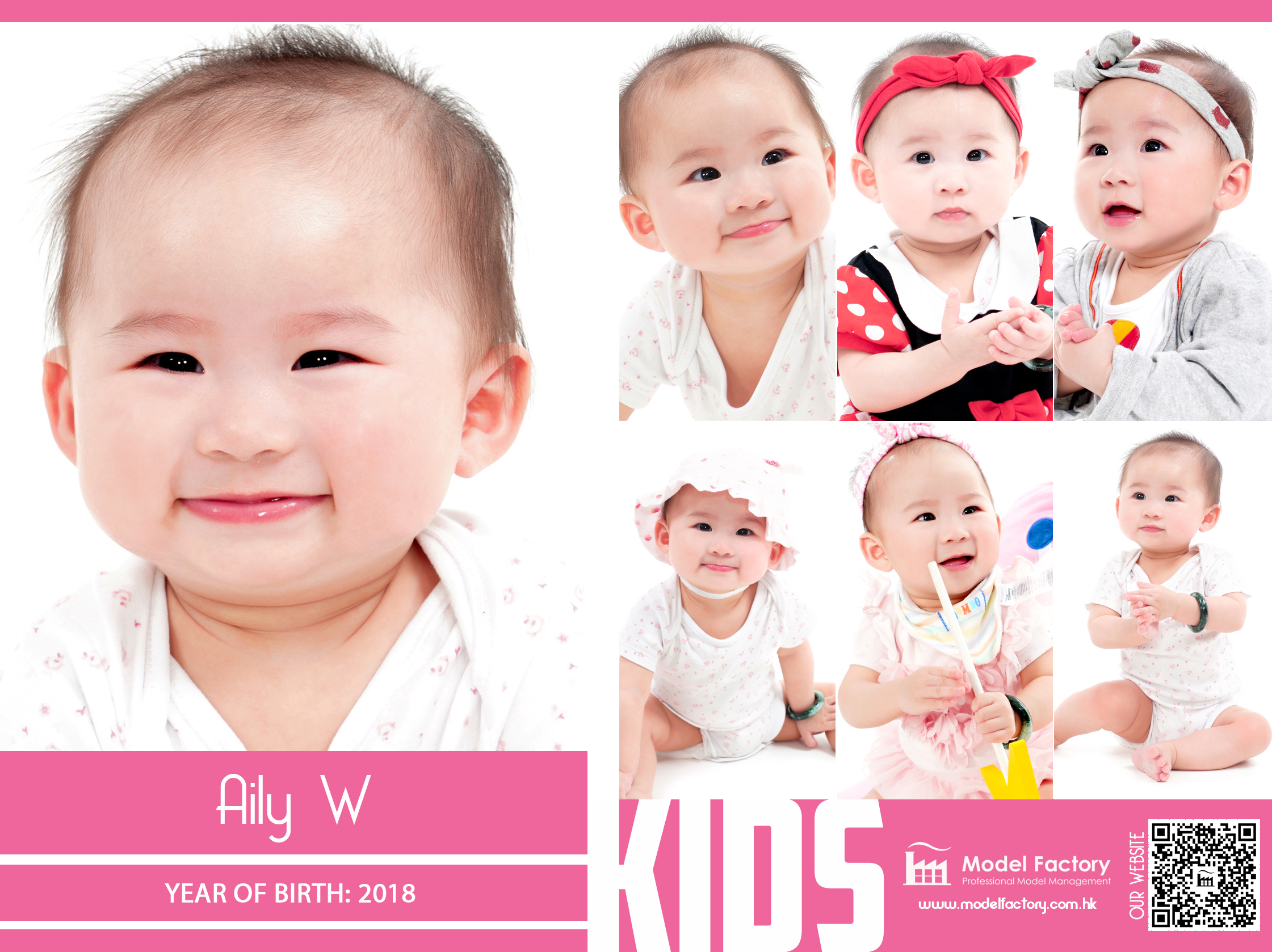 Model Factory Local Kids Model Aily W