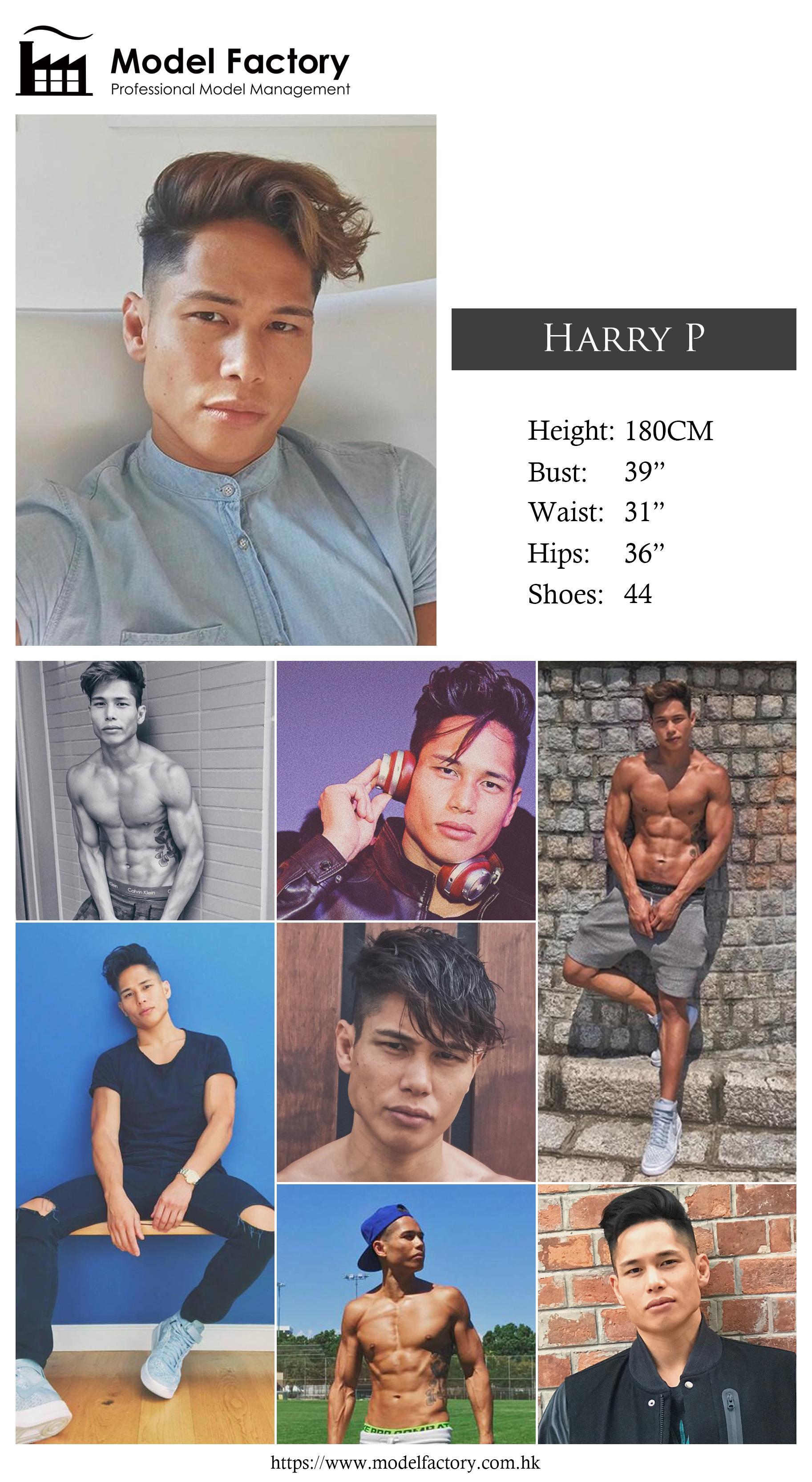 Model Factory Hong Kong Male Model HarryP