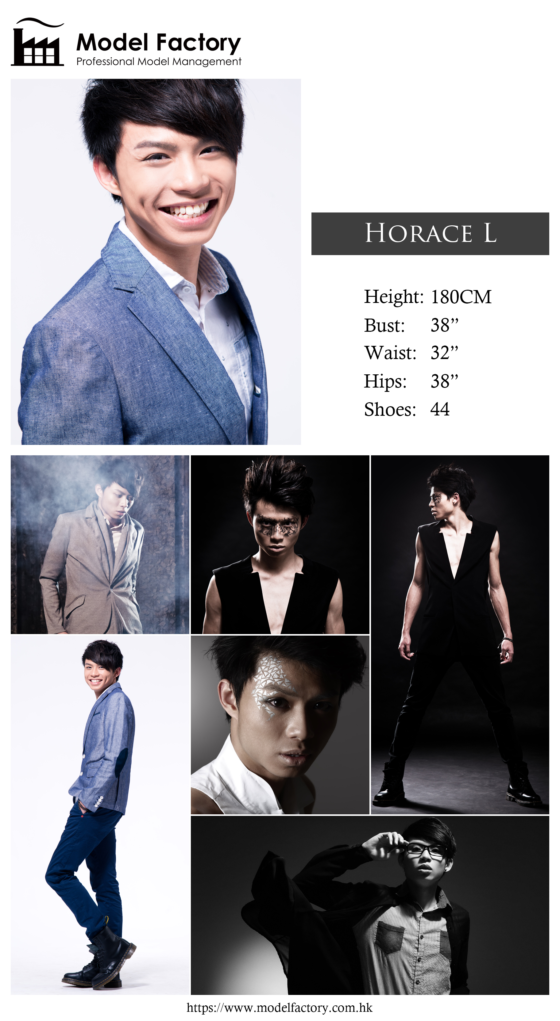 Model Factory Hong Kong Male Model HoraceL