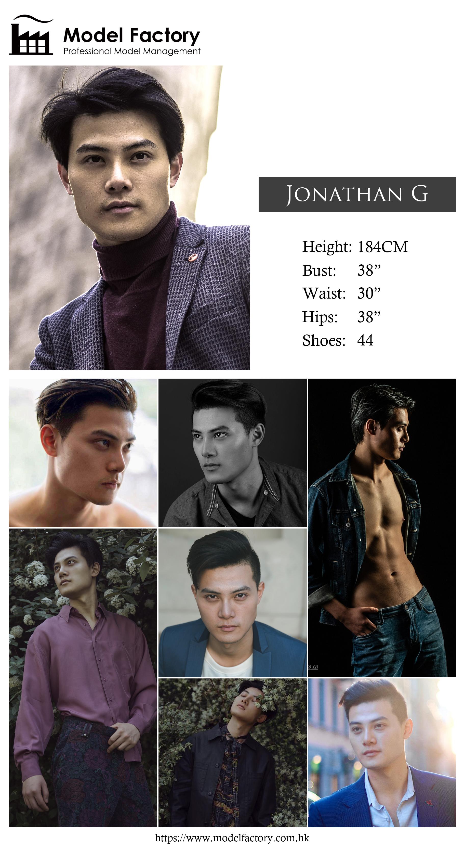 Model Factory Hong Kong Male Model JonathanG