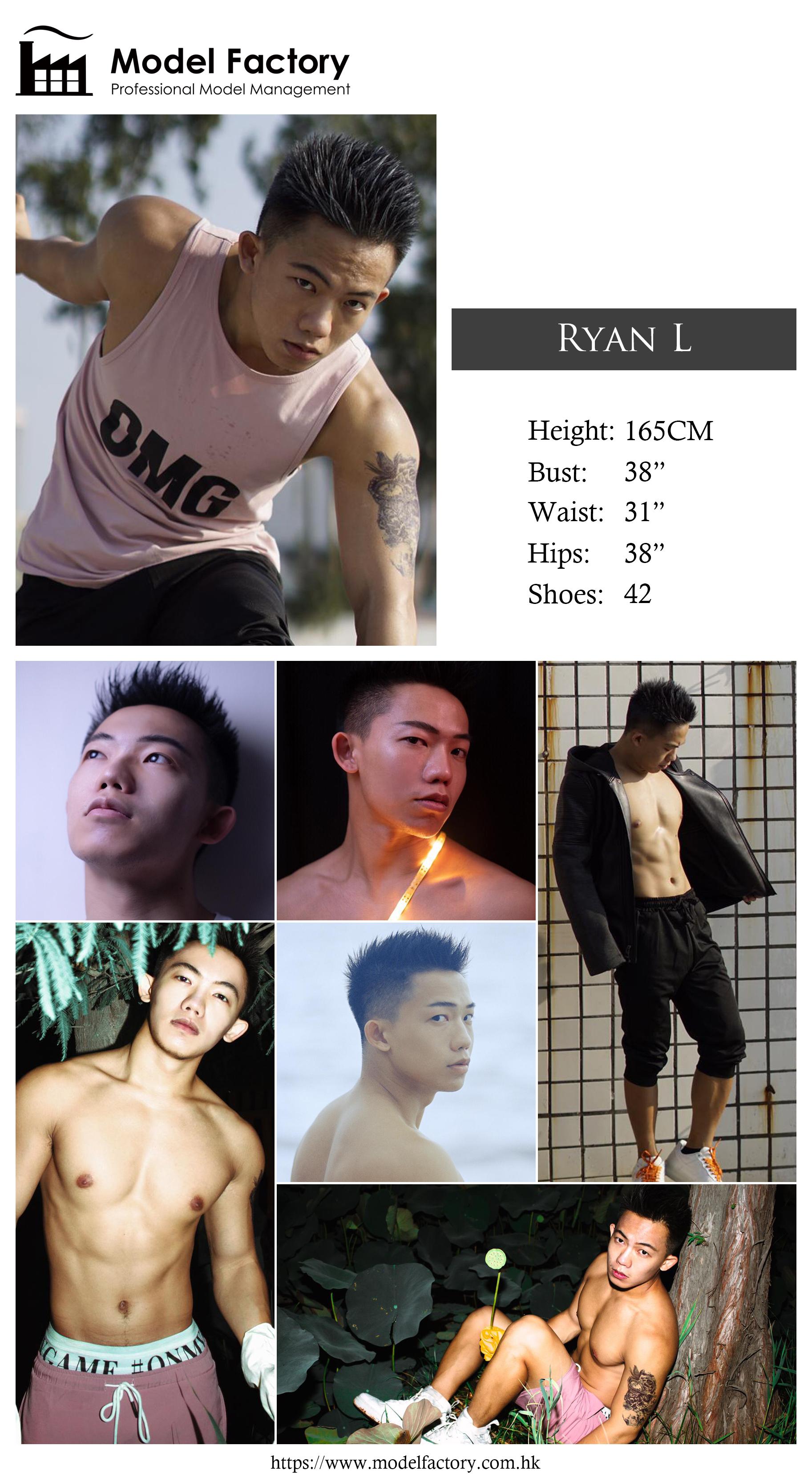 Model Factory Hong Kong Male Model RyanL