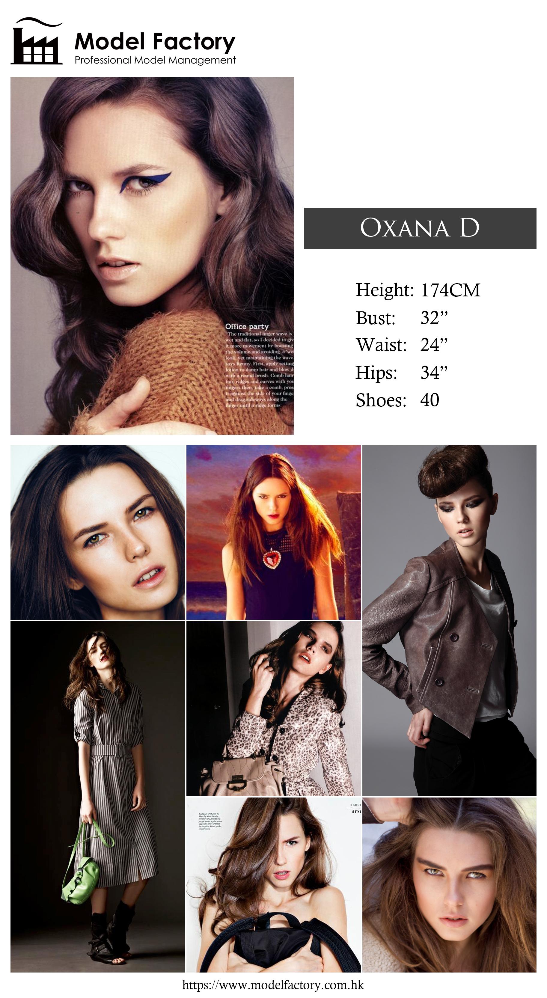 Model Factory Caucasian Female Model OxanaD