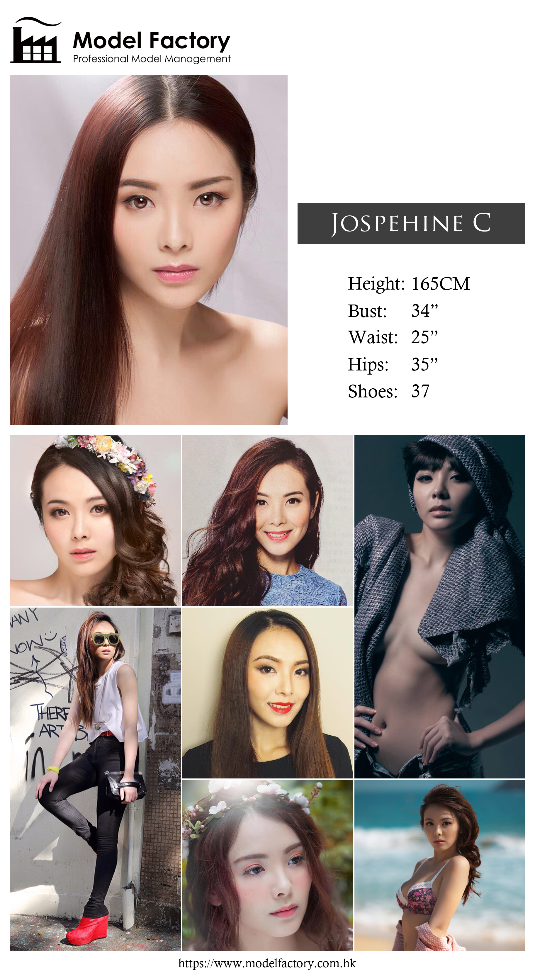 Model Factory Hong Kong Female Model JospehineC
