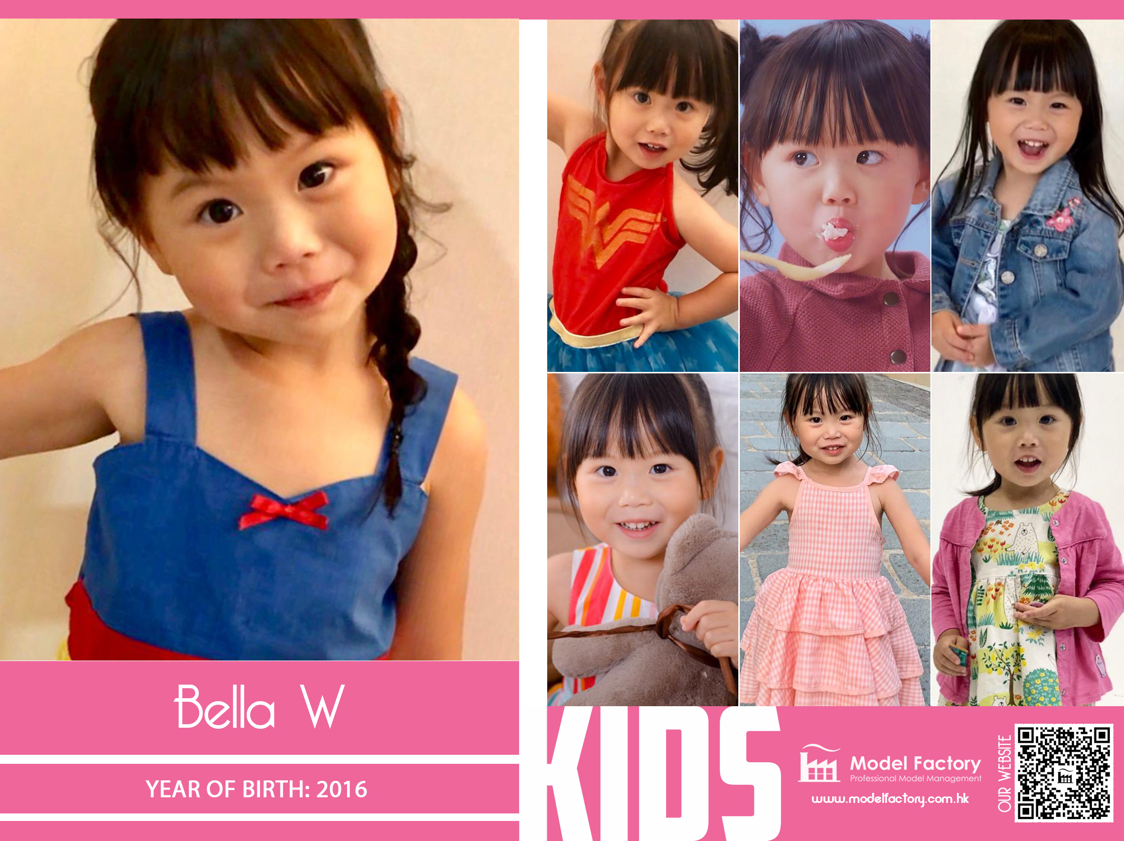 Model Factory Mix Kids Model Bella W