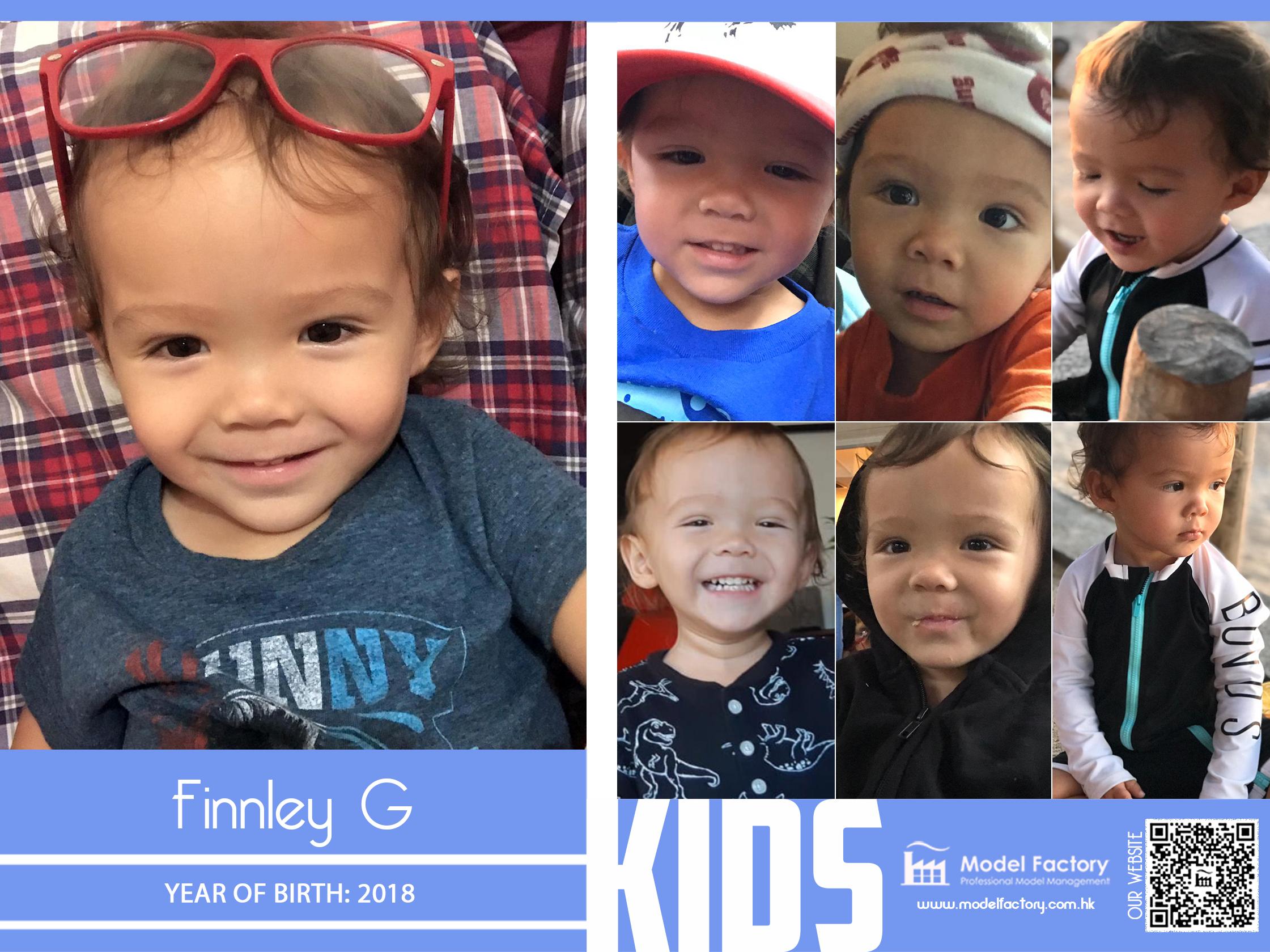 Model Factory Caucasian Kids Model Finnley G