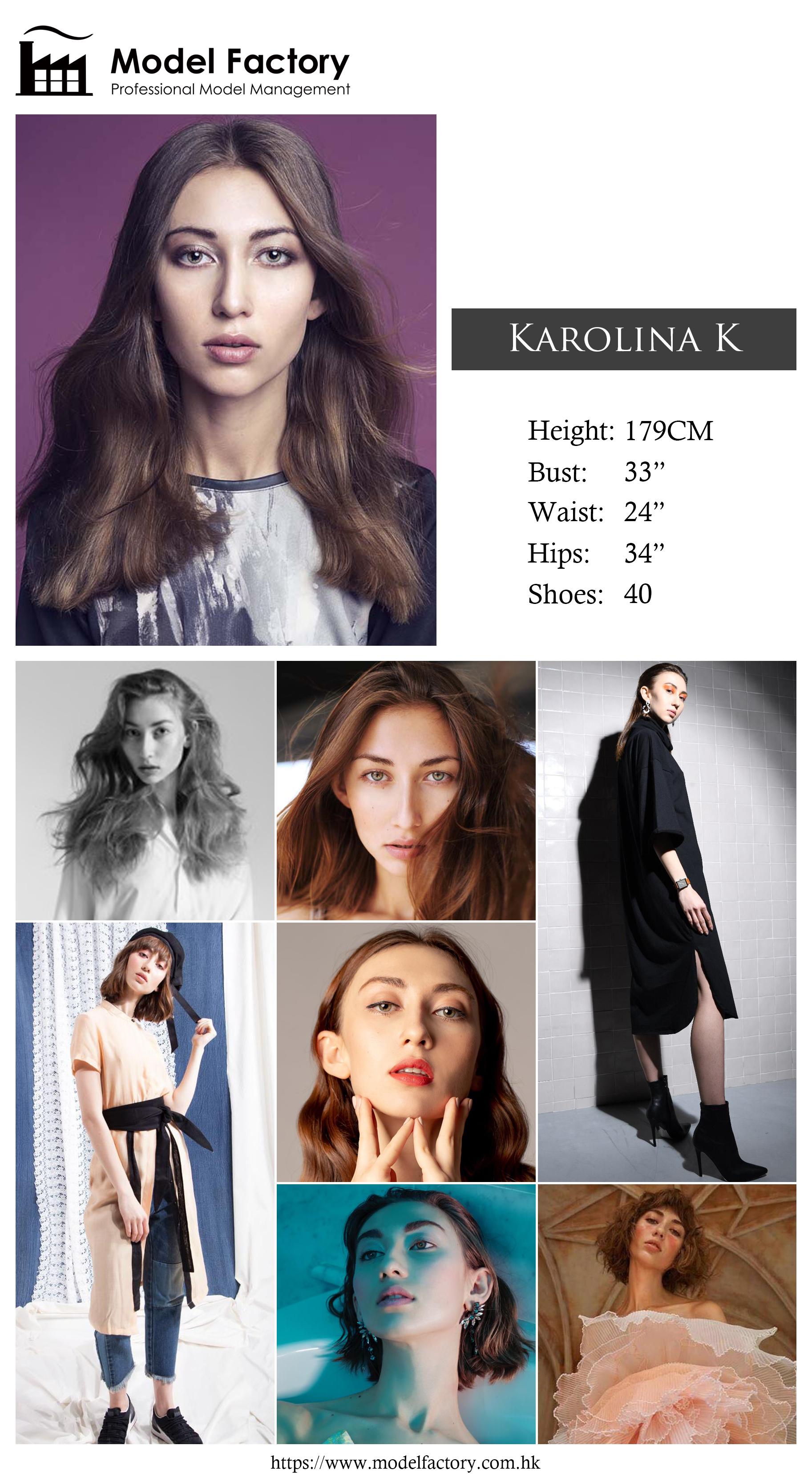Model Factory Caucasian Female Model KarolinaK