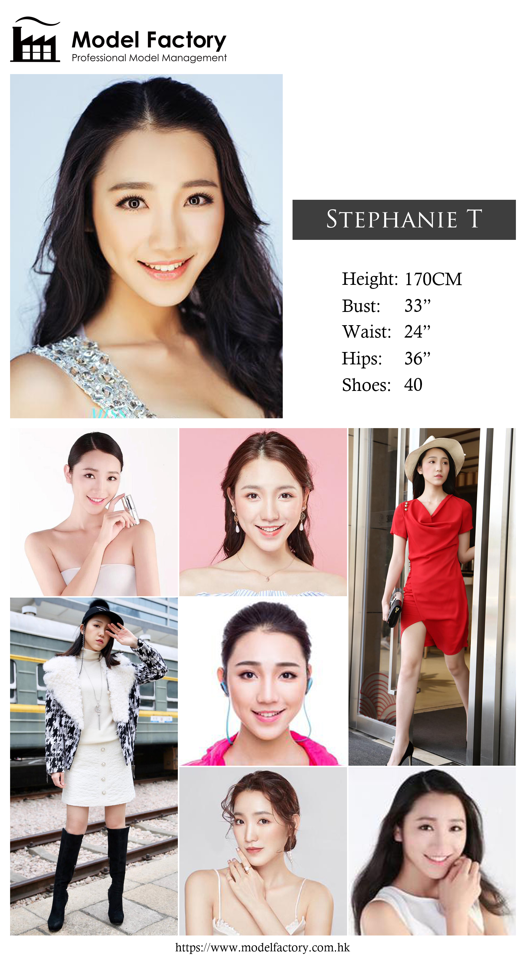 Model Factory Hong Kong Female Model StephanieT