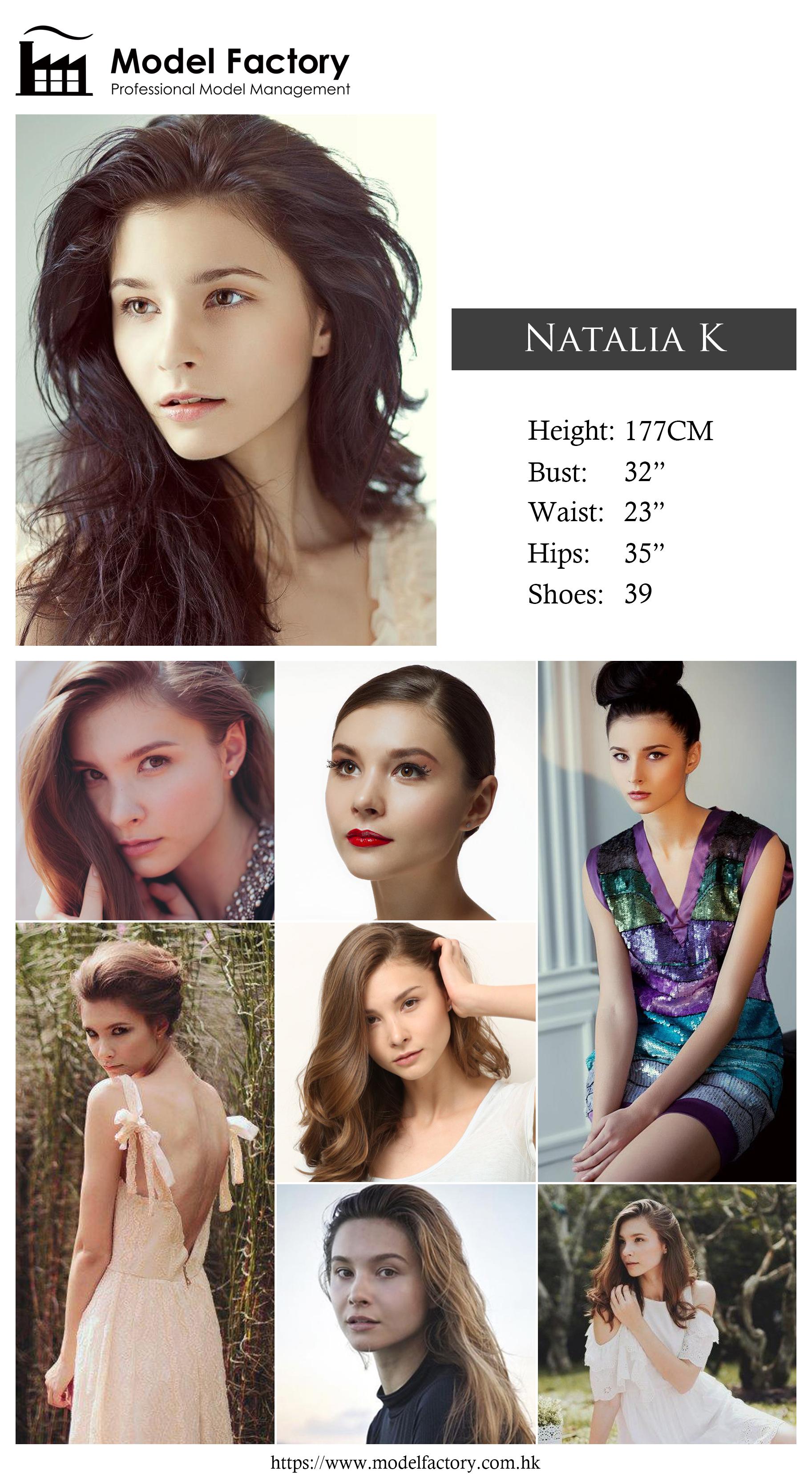 Model Factory Caucasian Female Model NataliaK