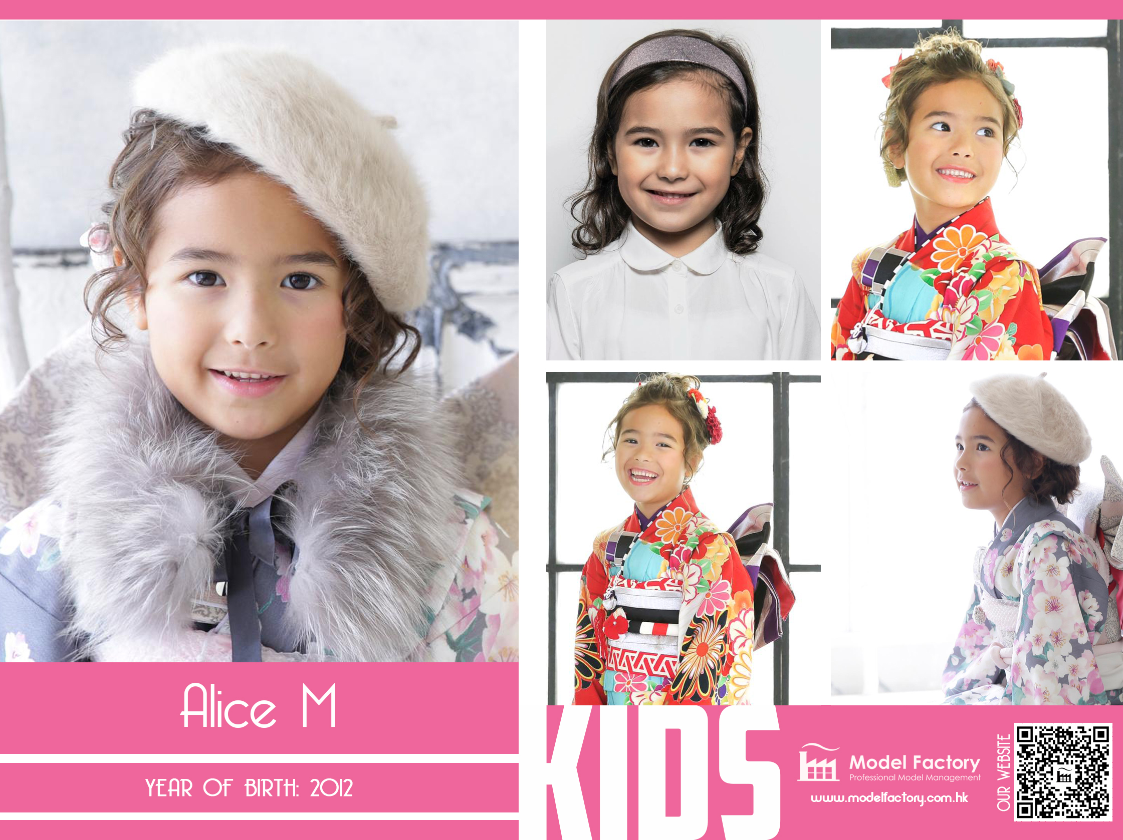 Model Factory Mix Kids Model Alice M