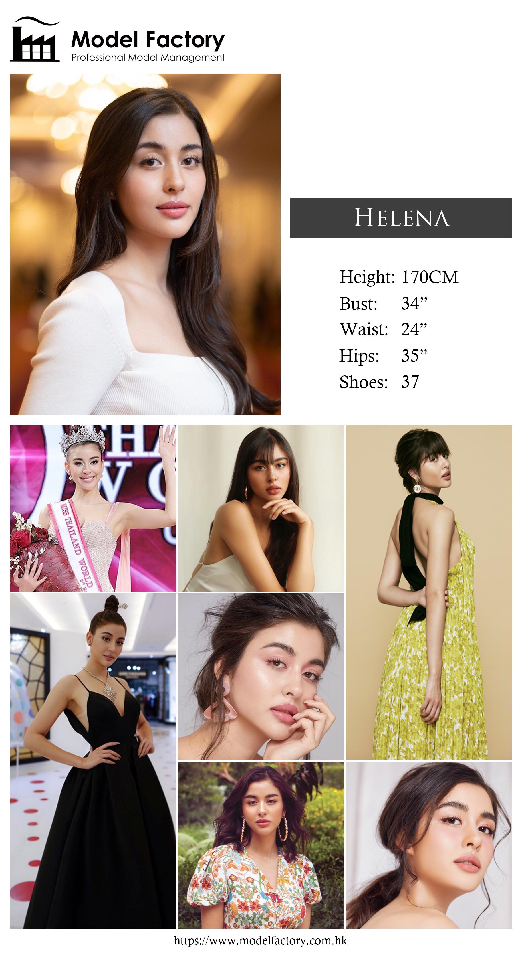 Model Factory Caucasian Female Model Helena