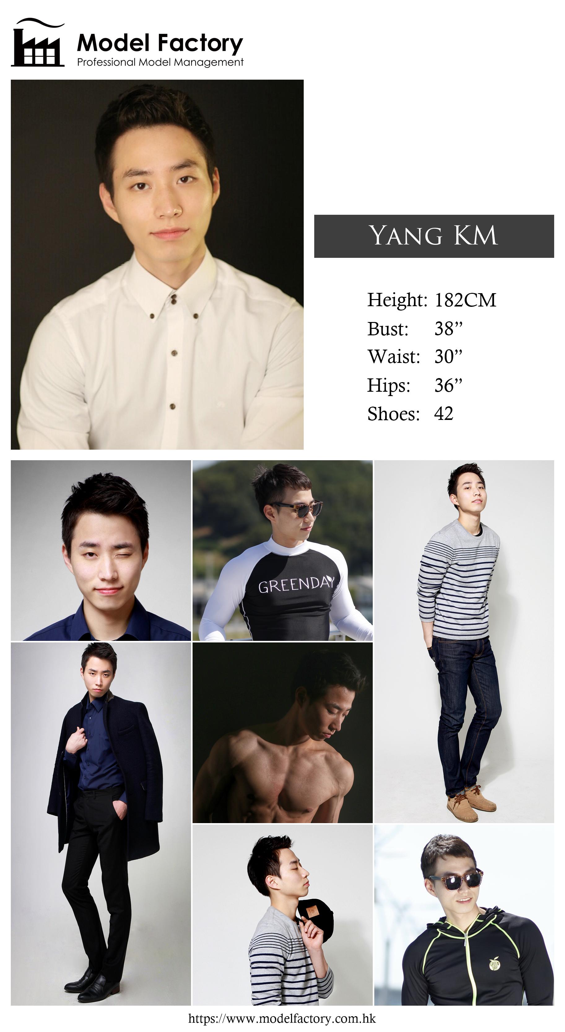 Model Factory Korean Male Model YangKM