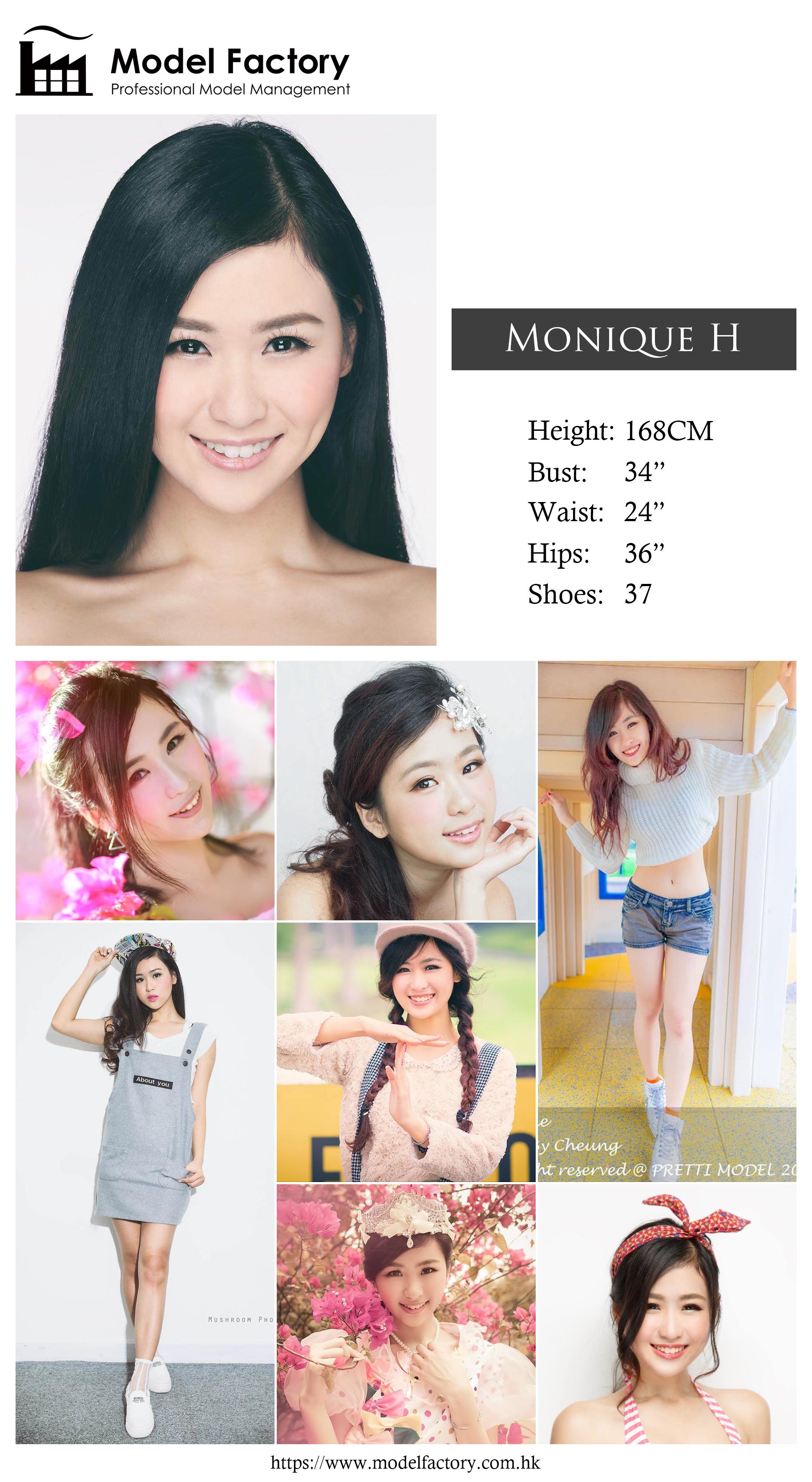 Model Factory Hong Kong Female Model MoniqueH