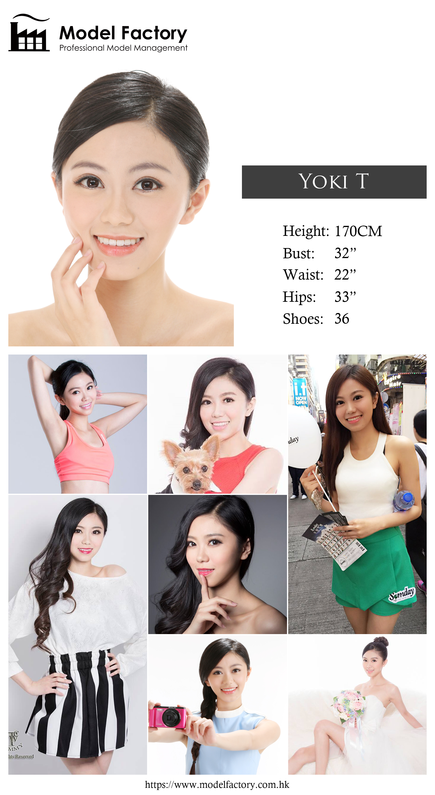 Model Factory Hong Kong Female Model YokiT
