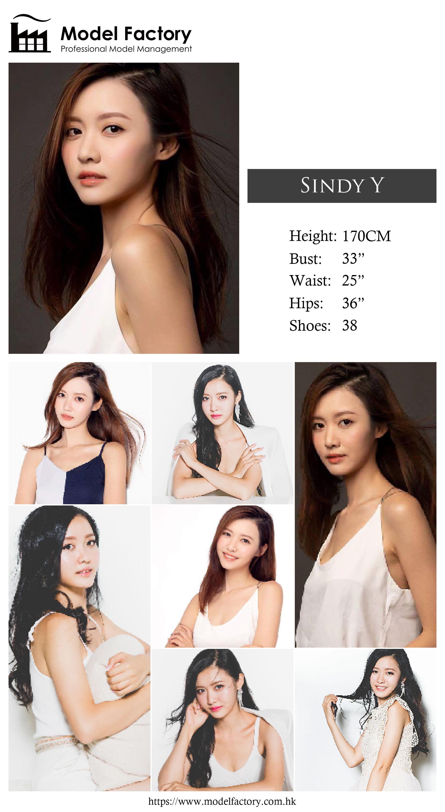 model agency hk Sindy Y