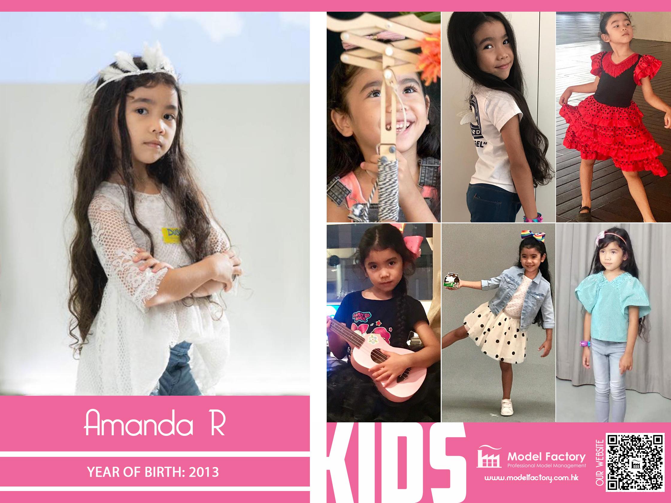 Model Factory Caucasian Kids Amanda R