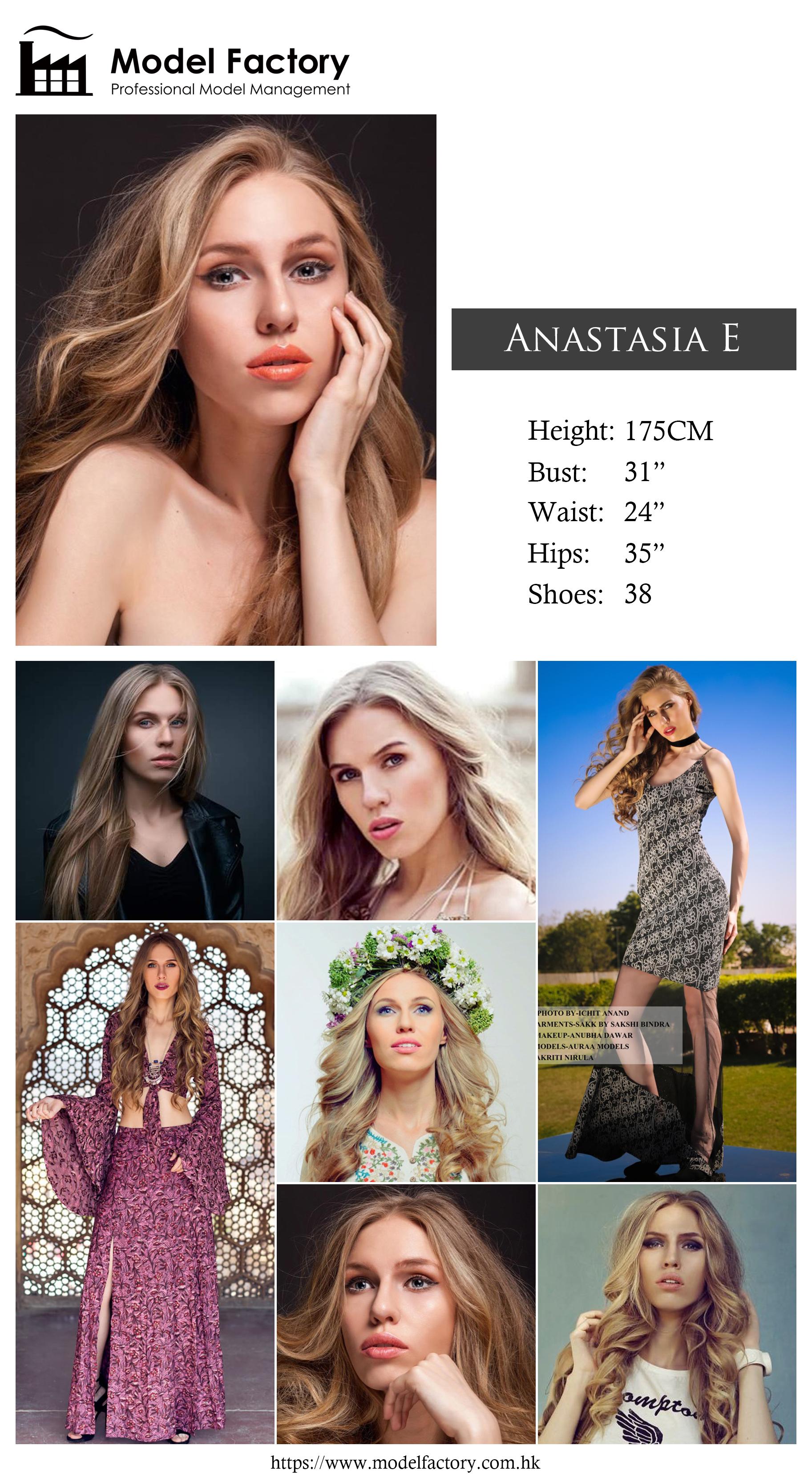 Caucasian Female Model AnastasiaE