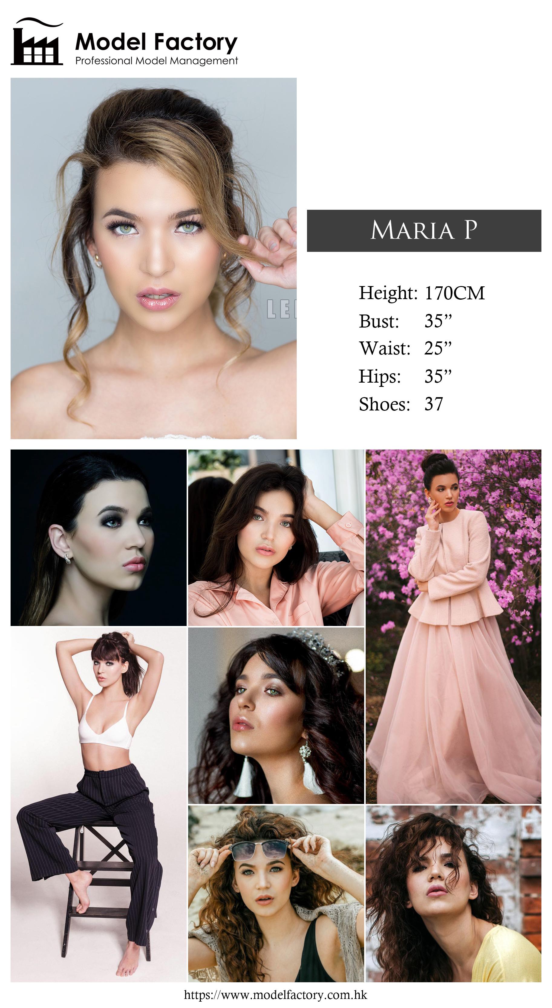 Model Factory Caucasian Female Model MariaP
