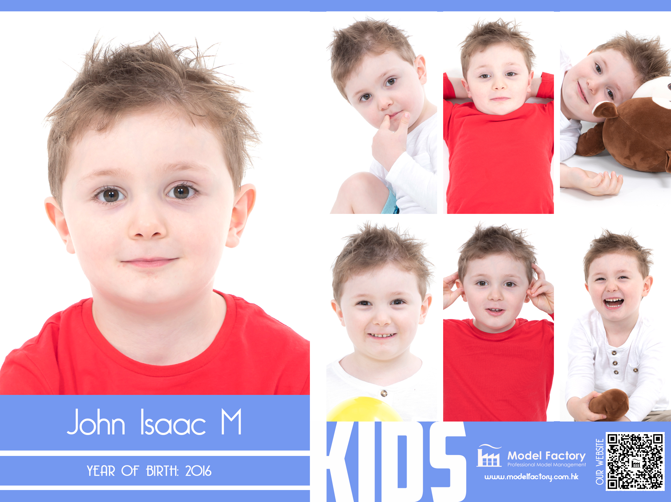 Model Factory Caucasian Kids John Isaac M
