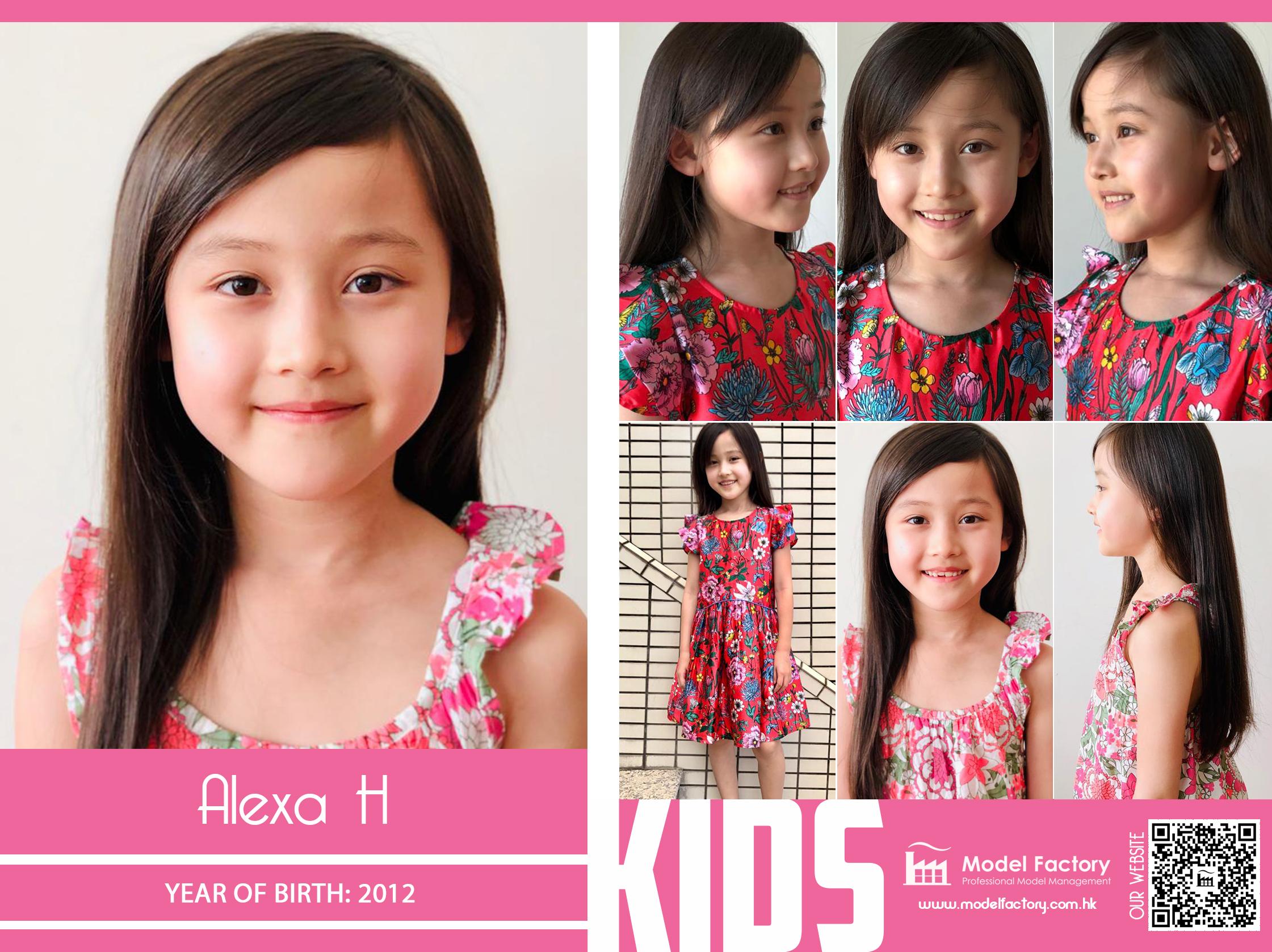 Model Factory Mix Kids Model Alexa H