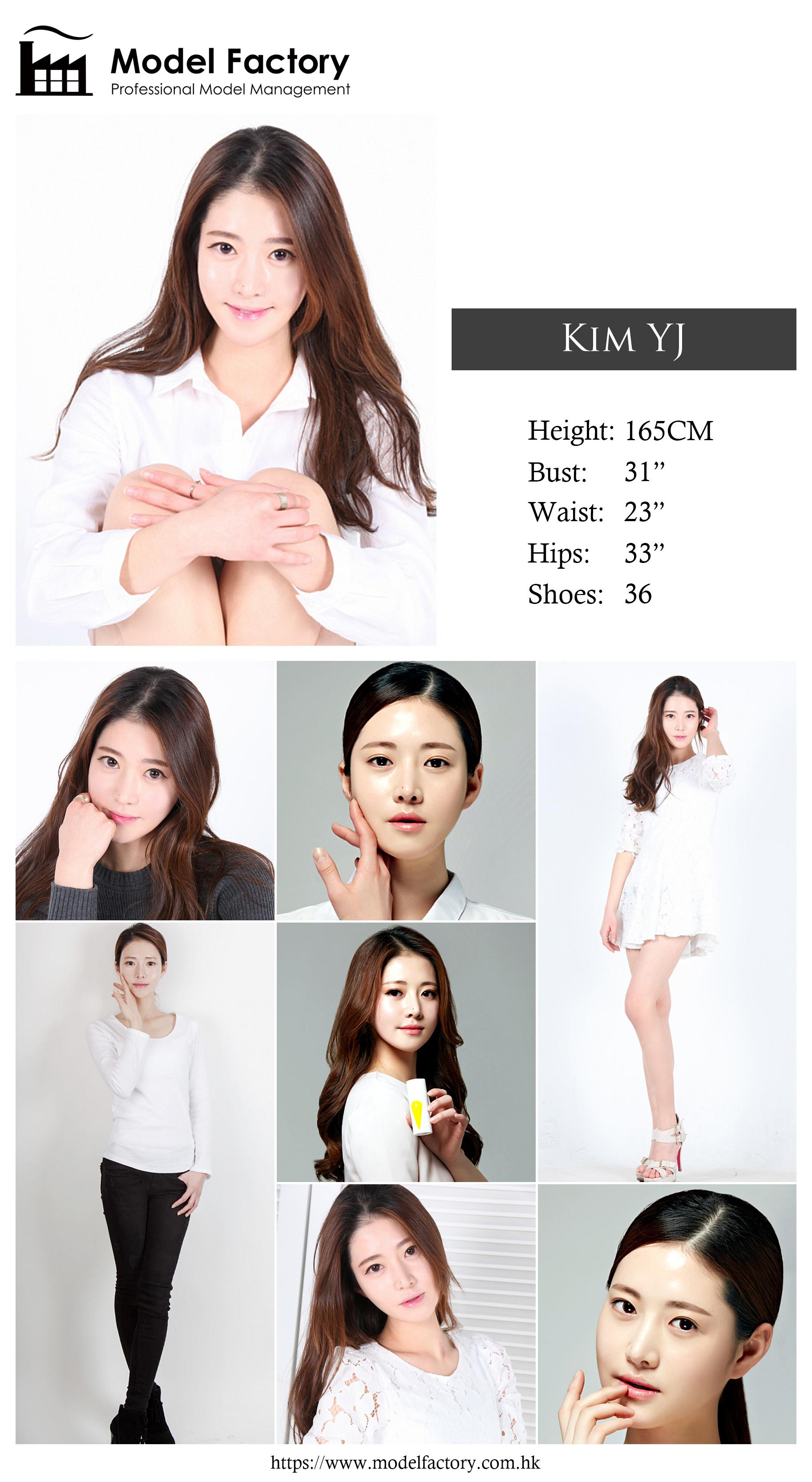 Model Factory Korean Female Model KimYJ