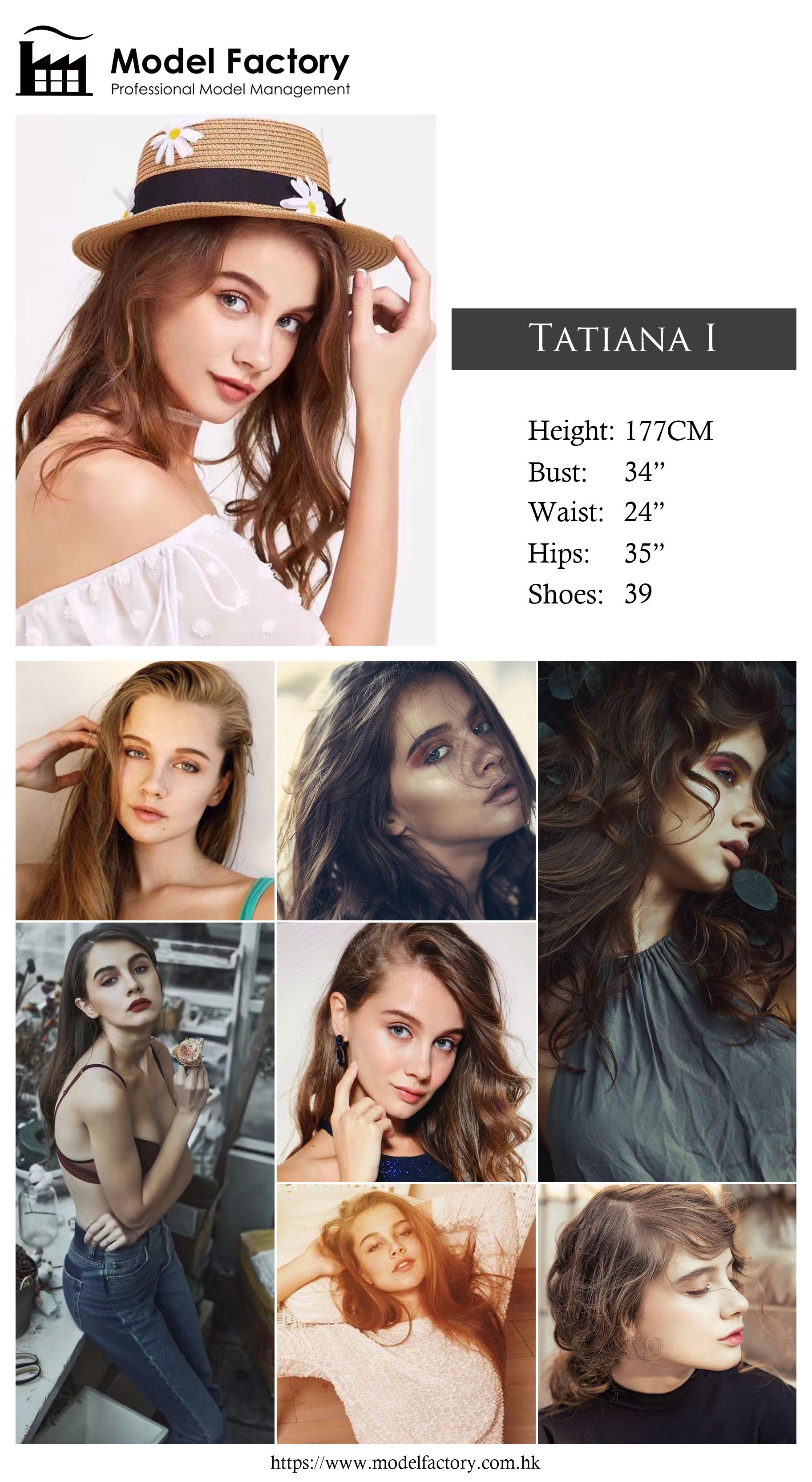 Model Factory Caucasian Female Model TatianaI