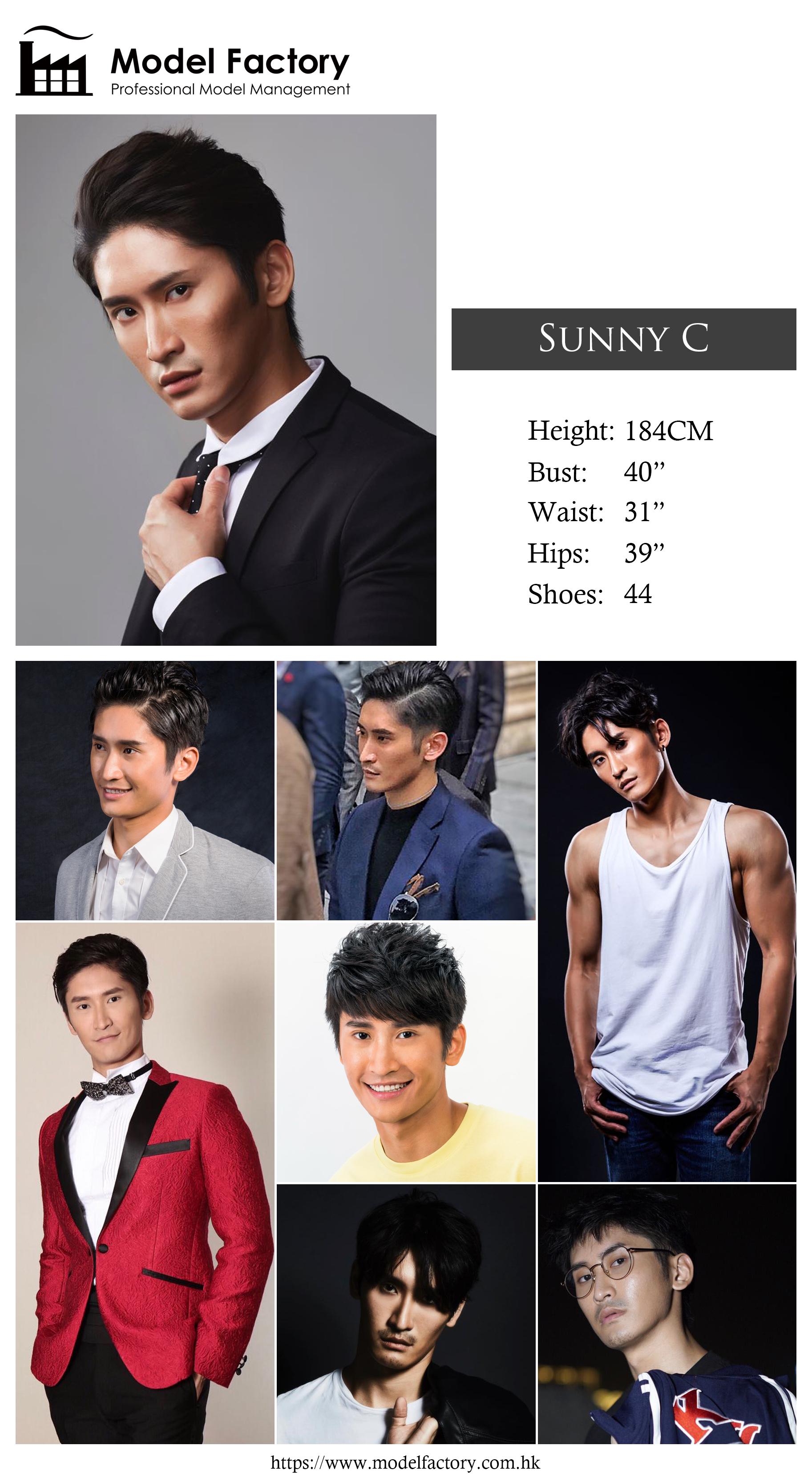 Model Factory Hong Kong Male Model SunnyC