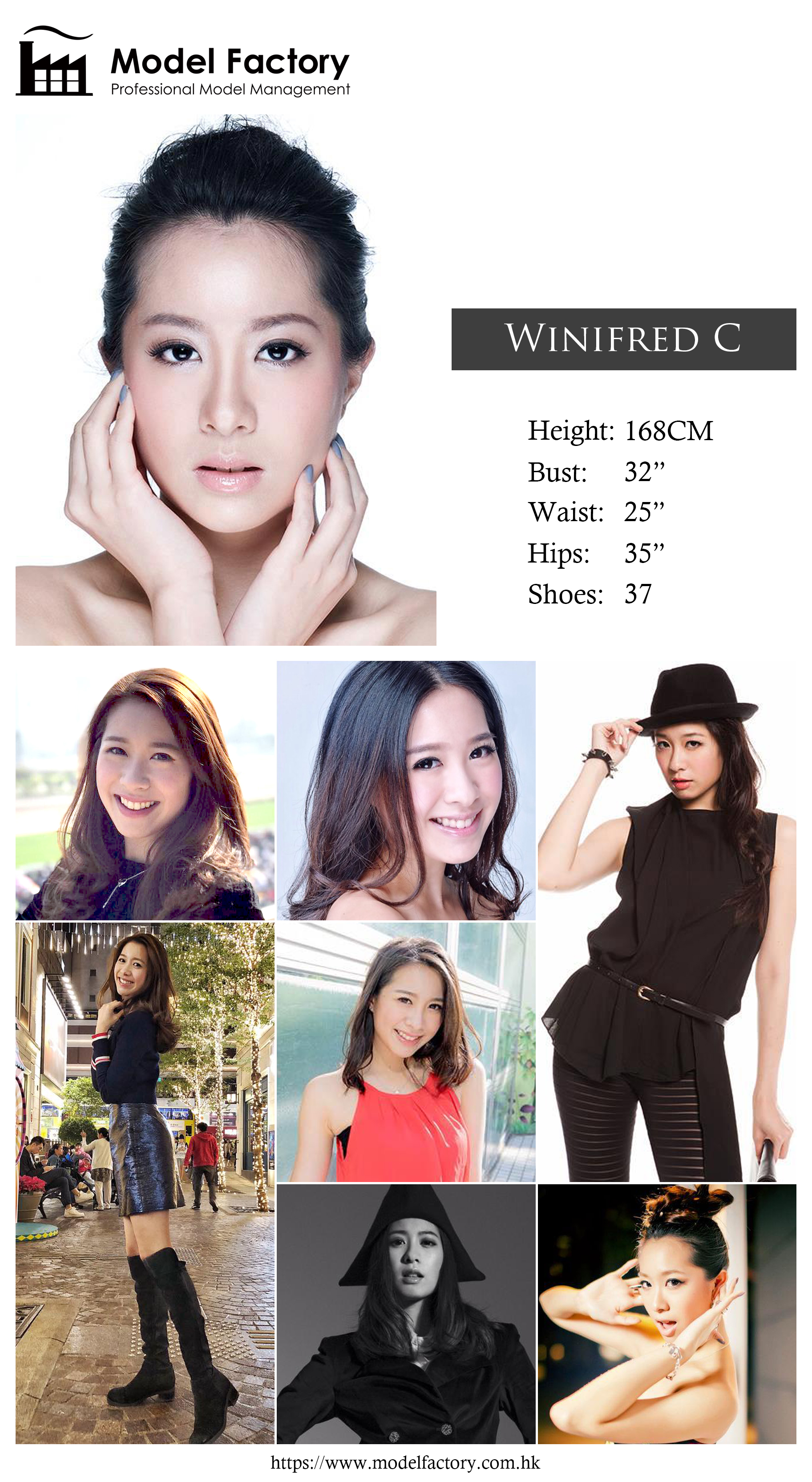 Model Factory Hong Kong Female Model WinifredC