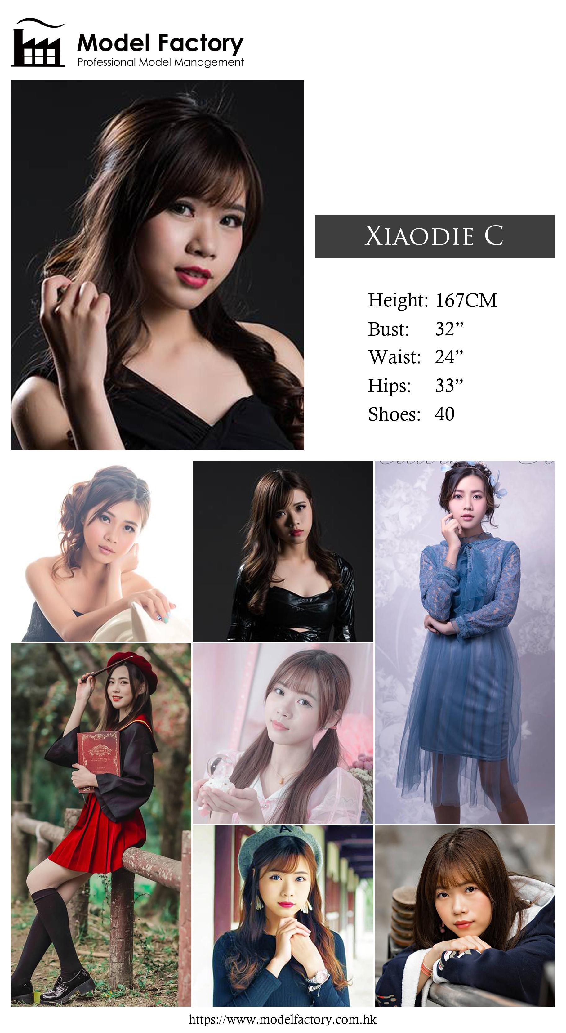 Model Factory Hong Kong Female Model XiaodieC