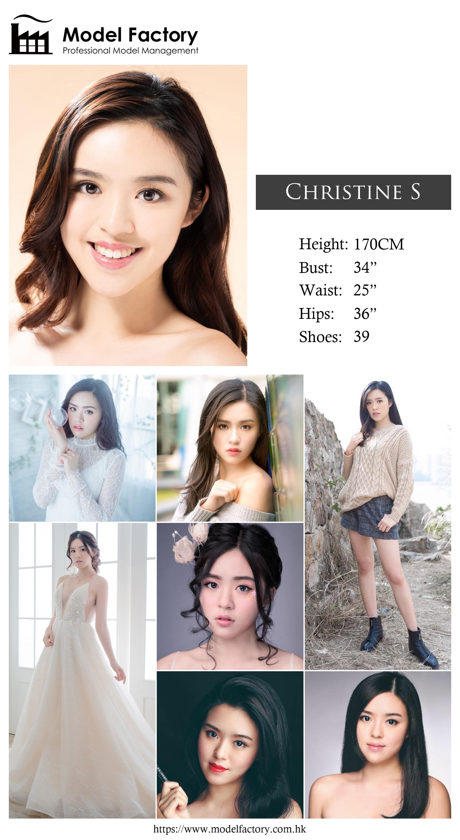 Model Factory Hong Kong Female Model ChristineS