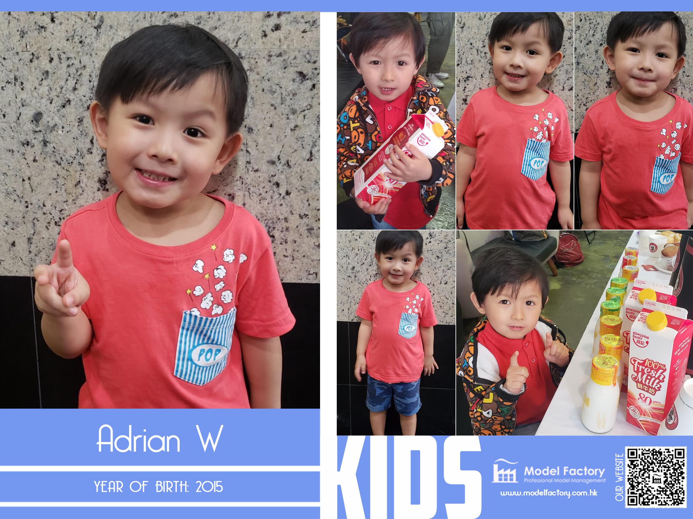 Model Factory Local Kids Model Adrian W