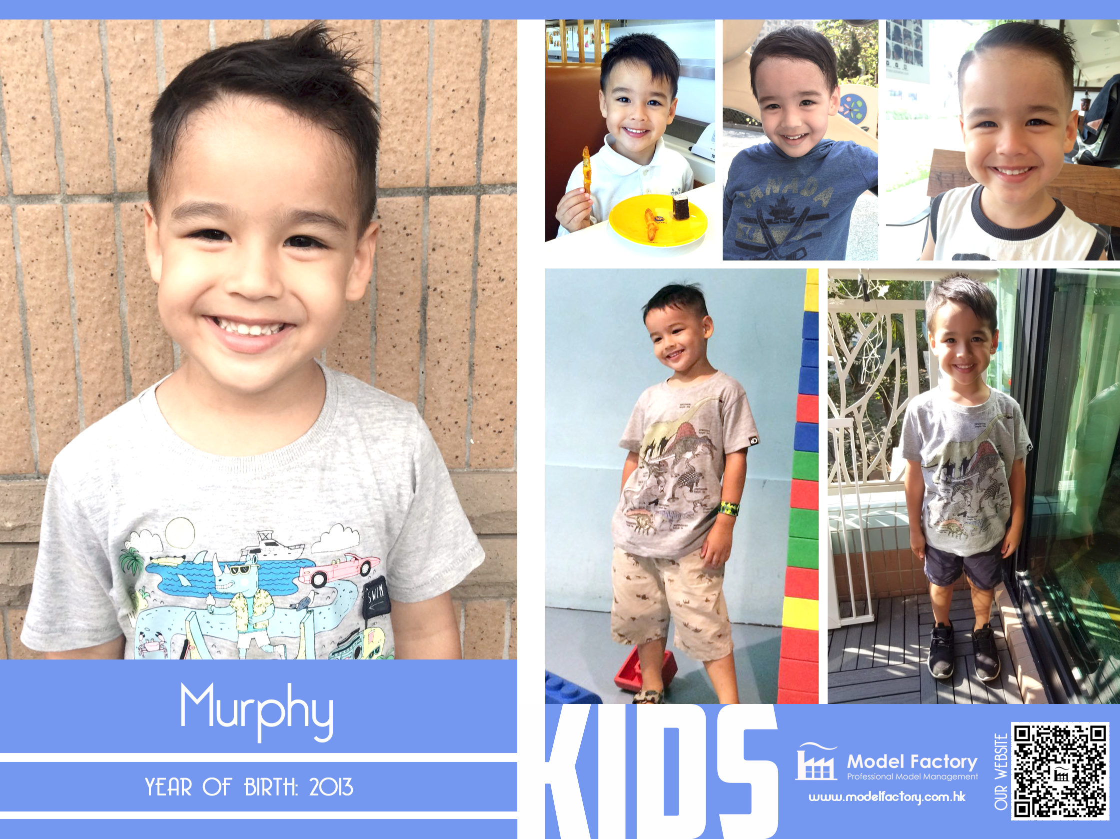 Model Factory Local Kids Model Flynn Murphy