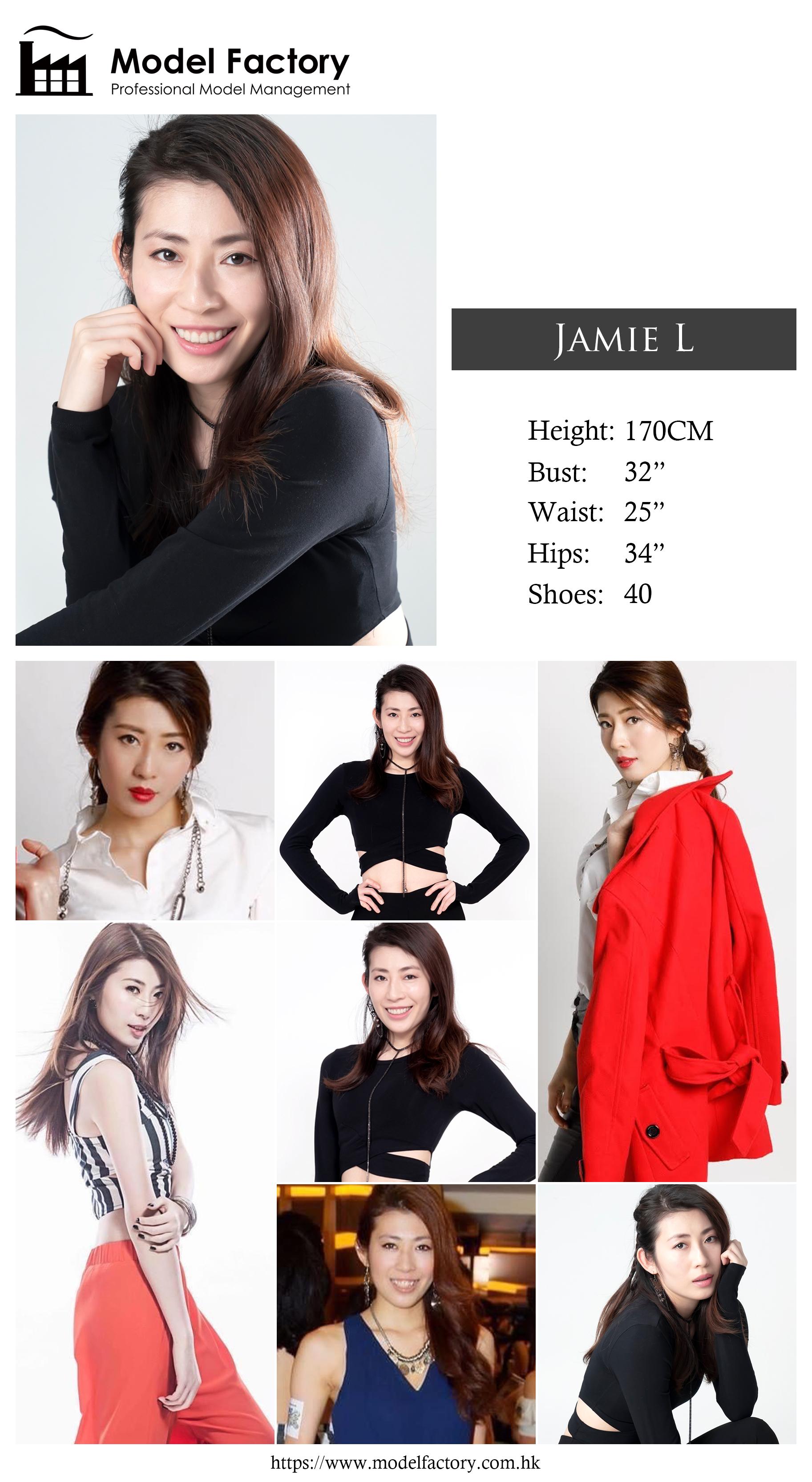 model agency hk Jamie L