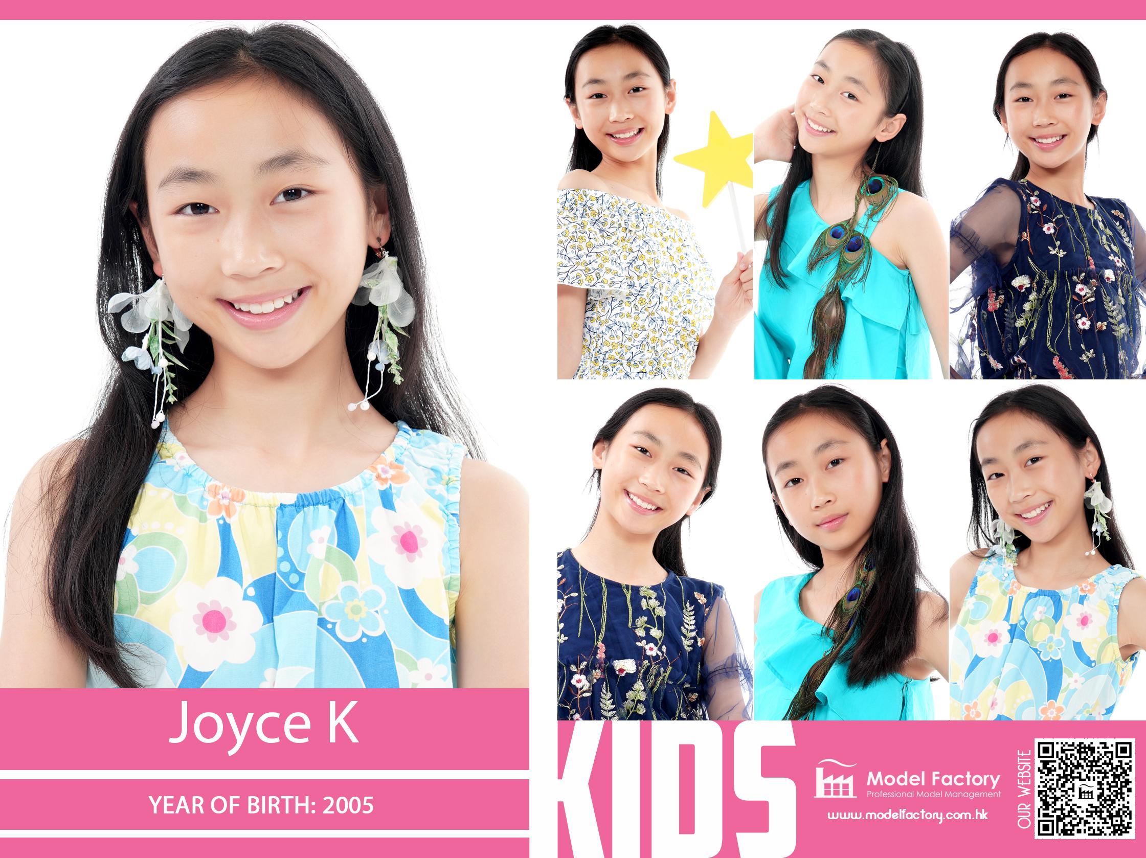 Model Factory Local Kids Model Jocye K