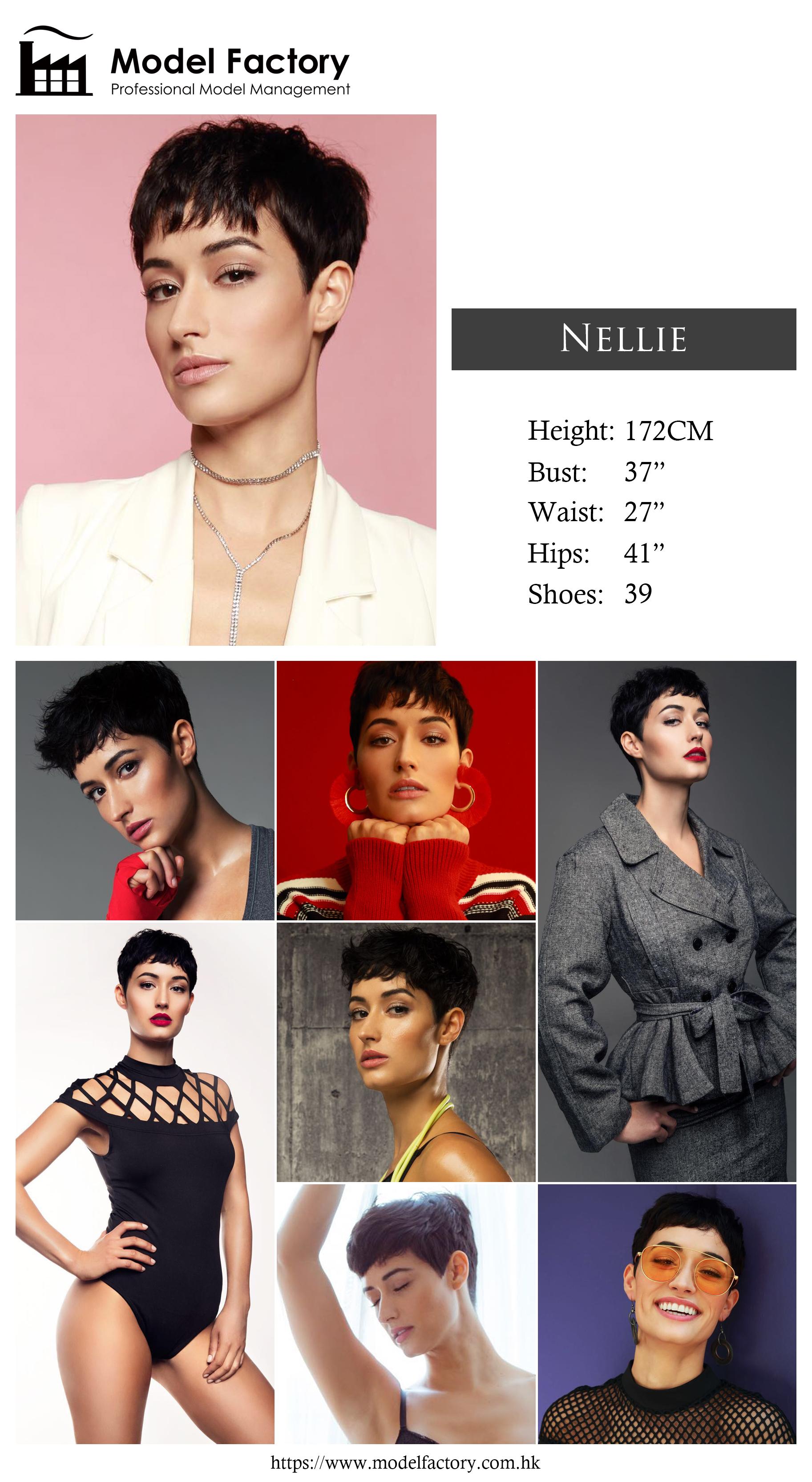 Model Factory Caucasian Female Model Nellie