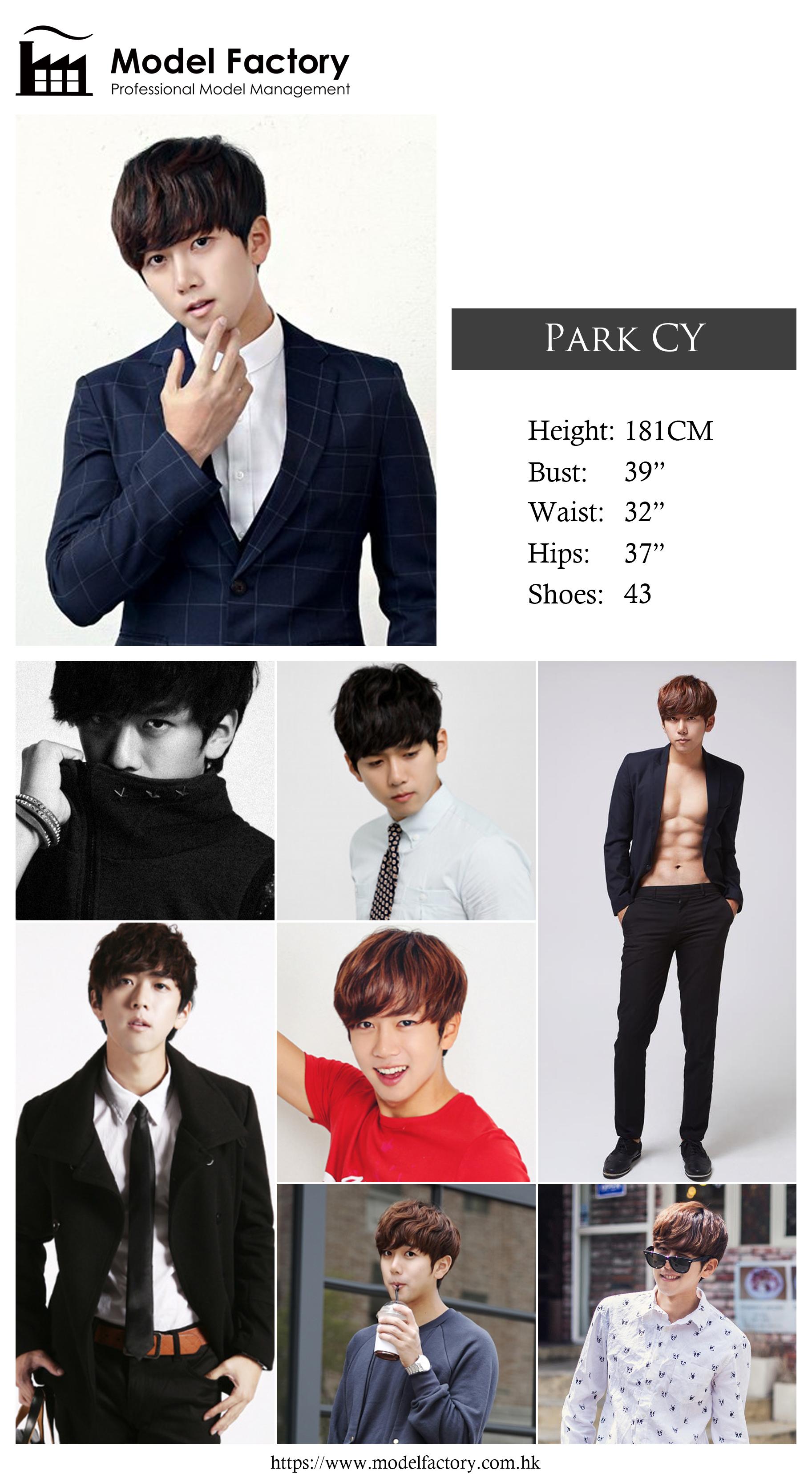 Model Factory Korean Male Model ParkCY