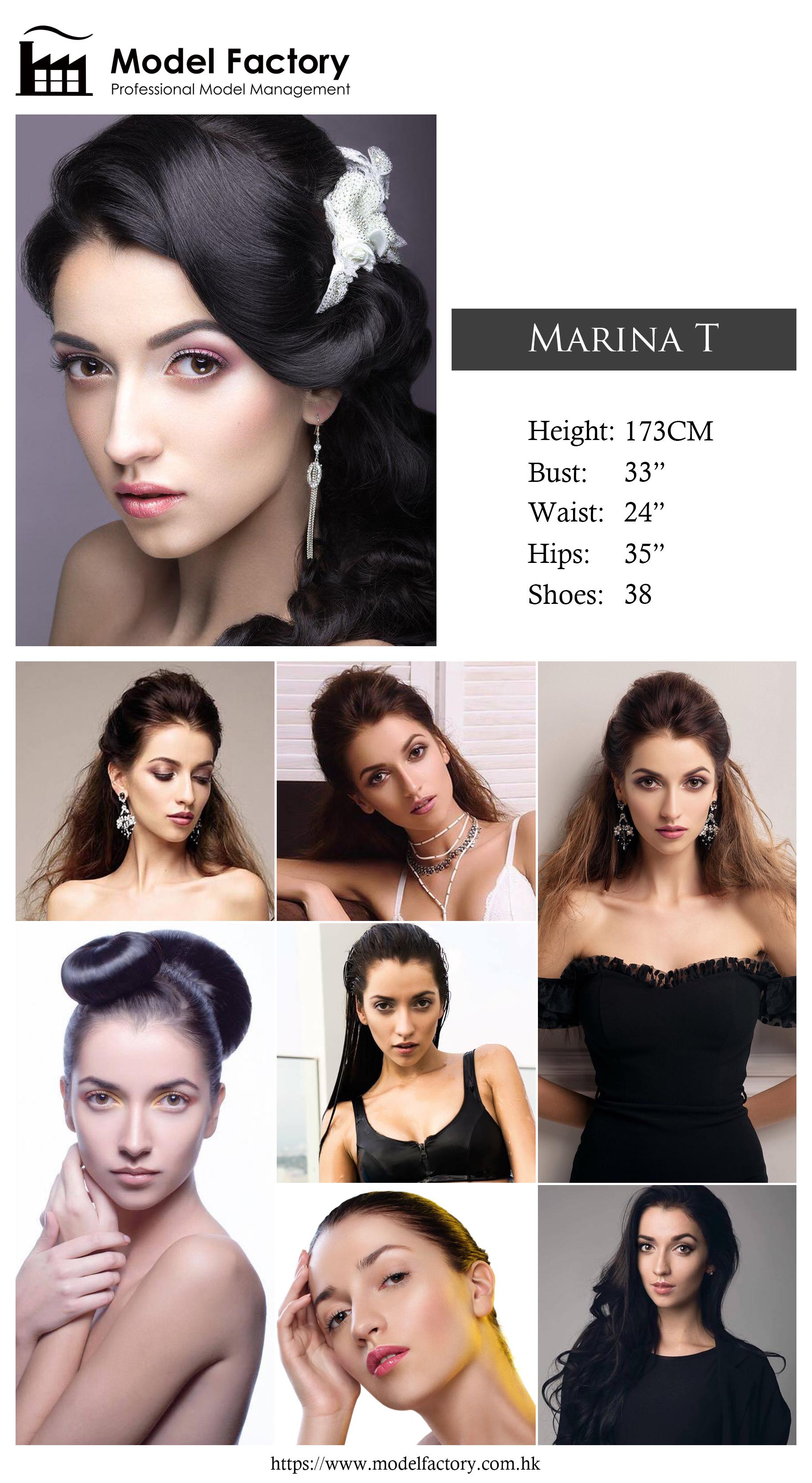 Model Factory Caucasian Female Model MarinaT