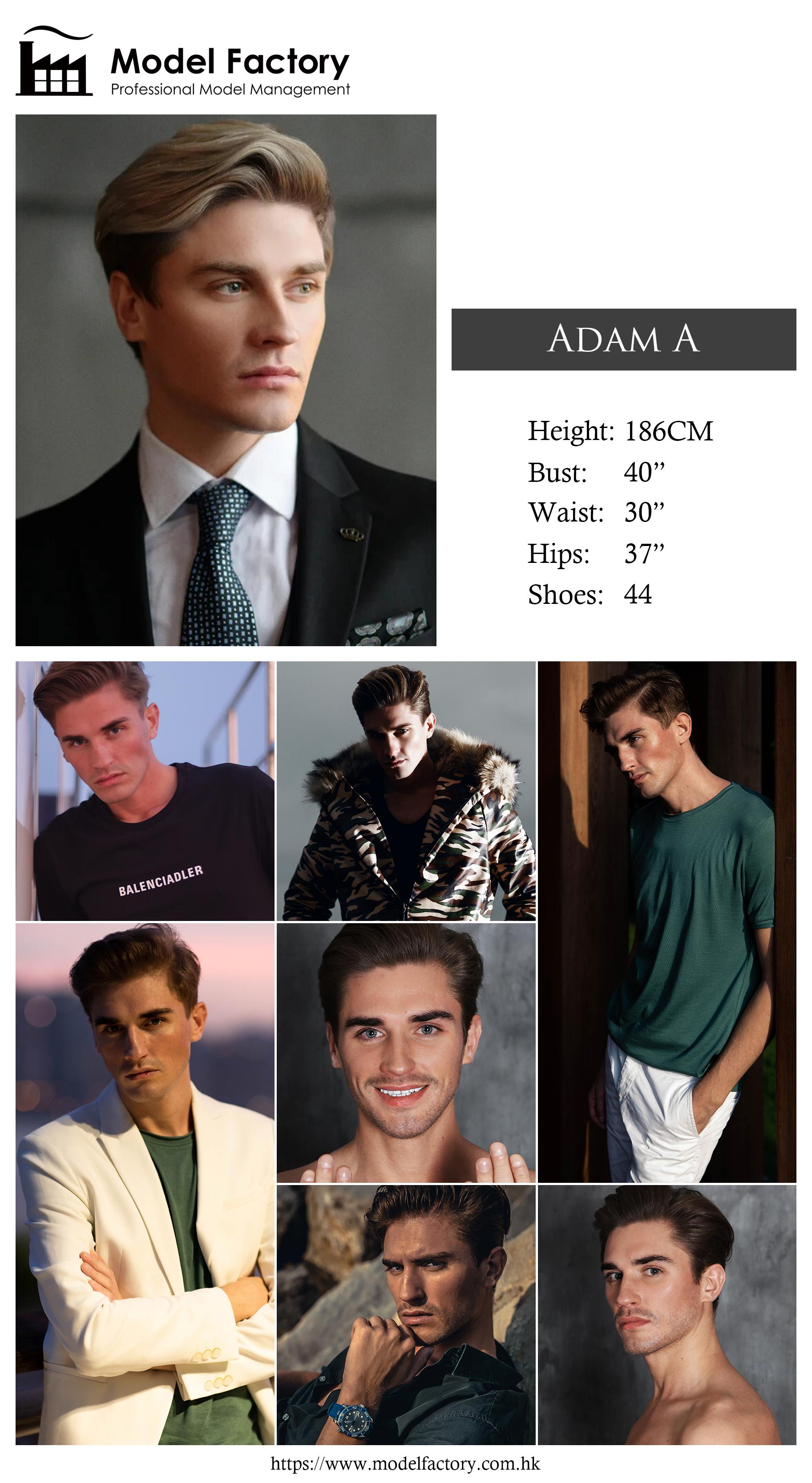 Caucasian Male Adam A