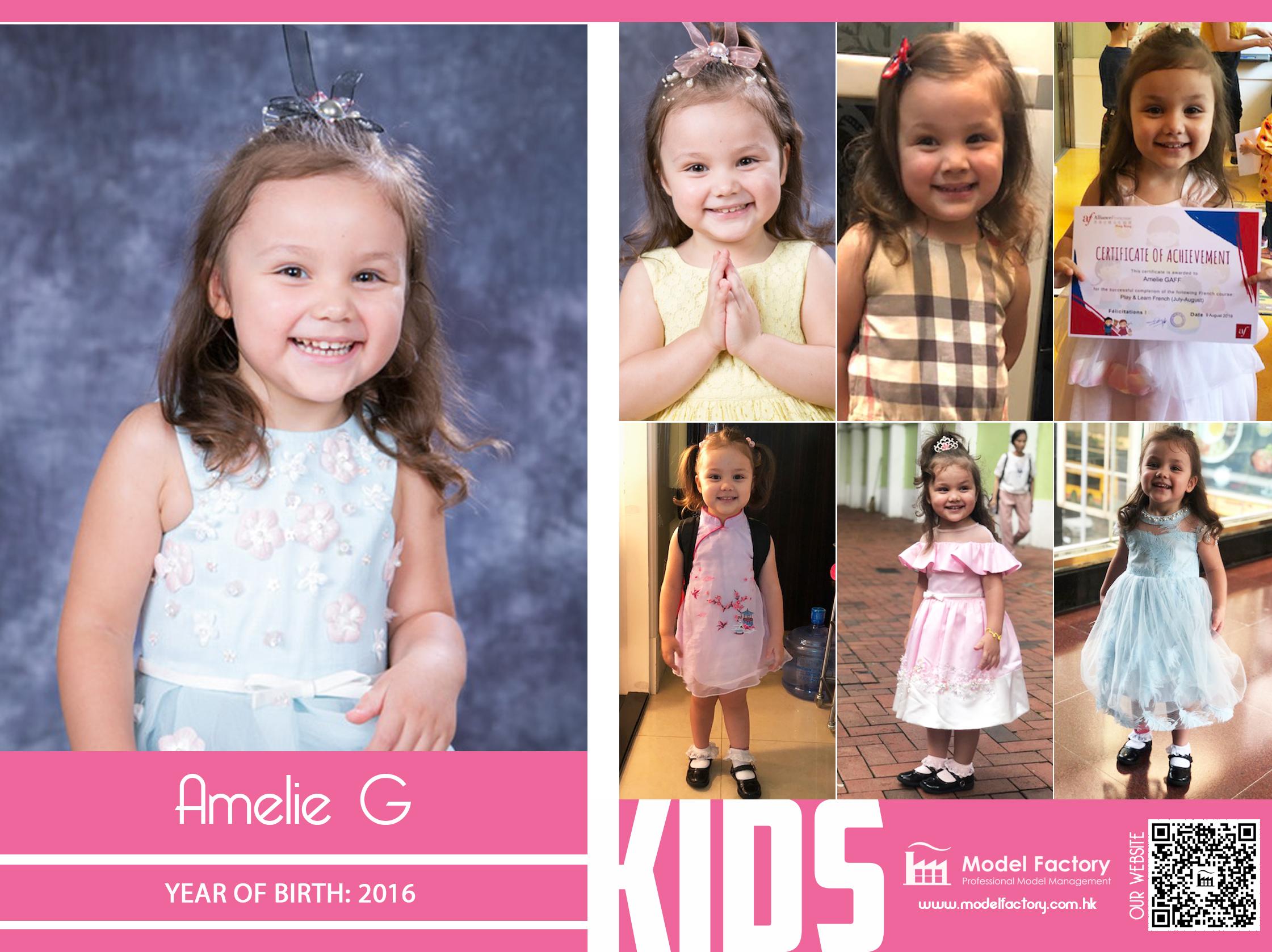 Model Factory Caucasian Kids Amelie G