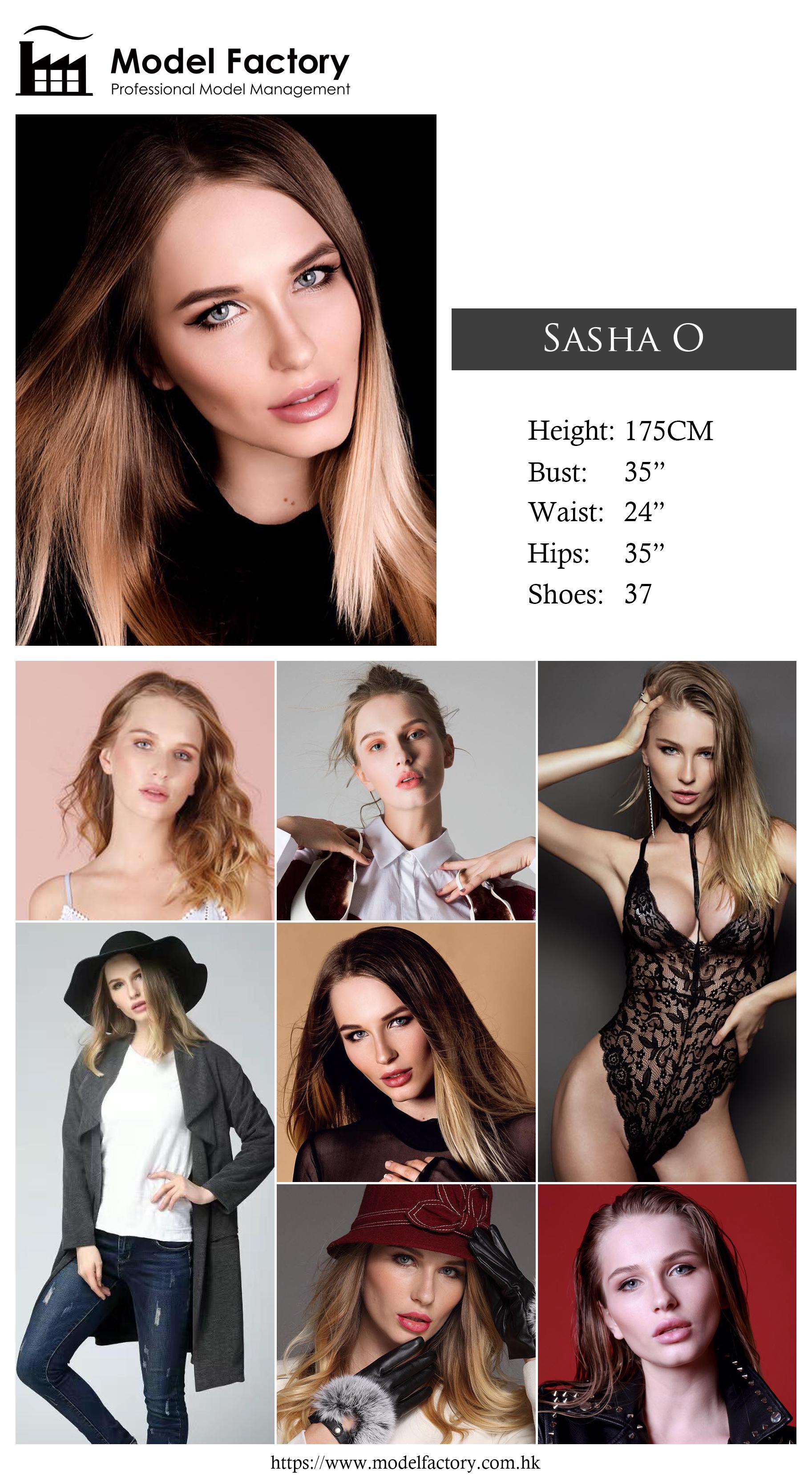 Model Factory Caucasian Female Model SashaO