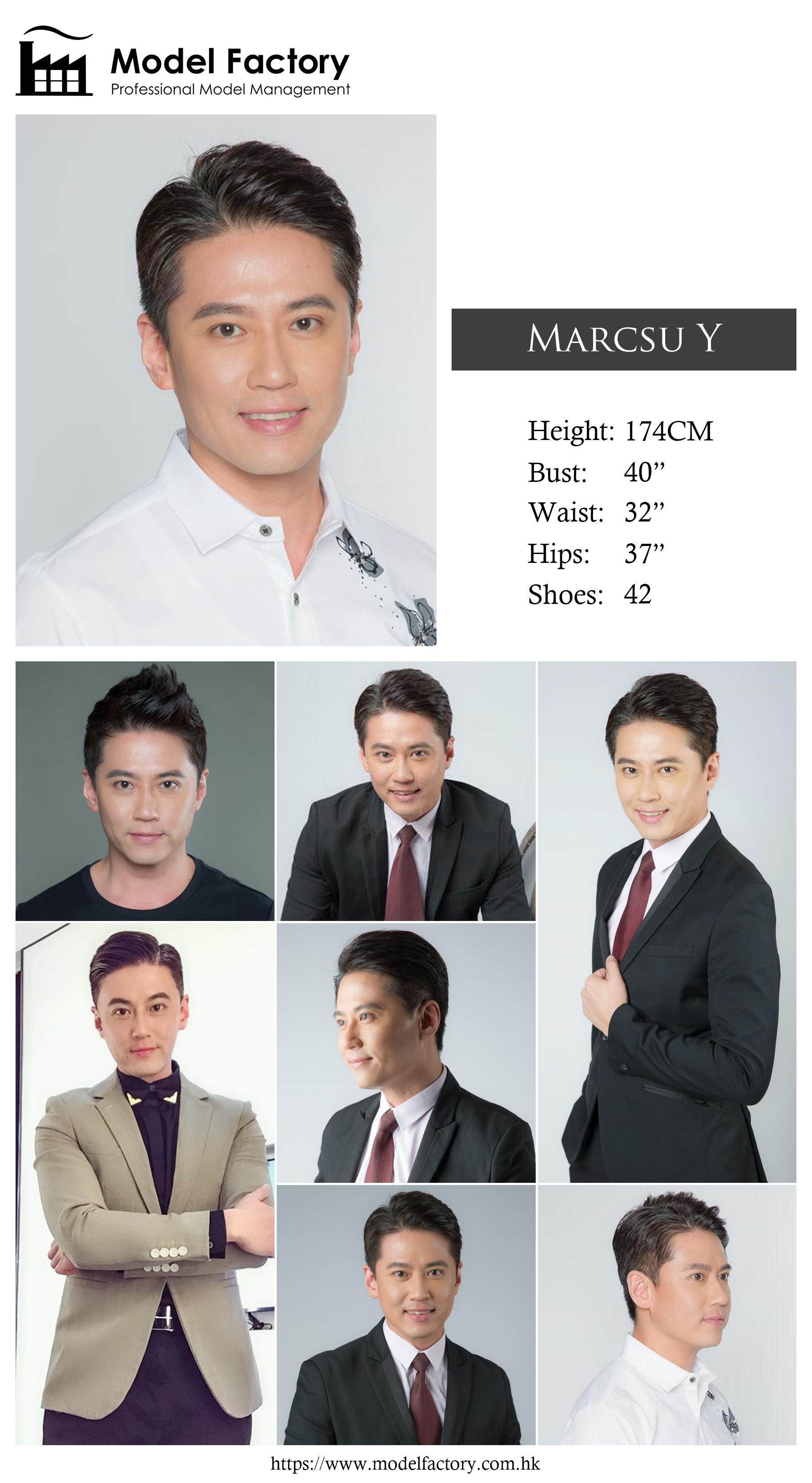 Model Factory Hong Kong Male Model MarcusY